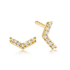 Varro Honeycomb Stud Earrings