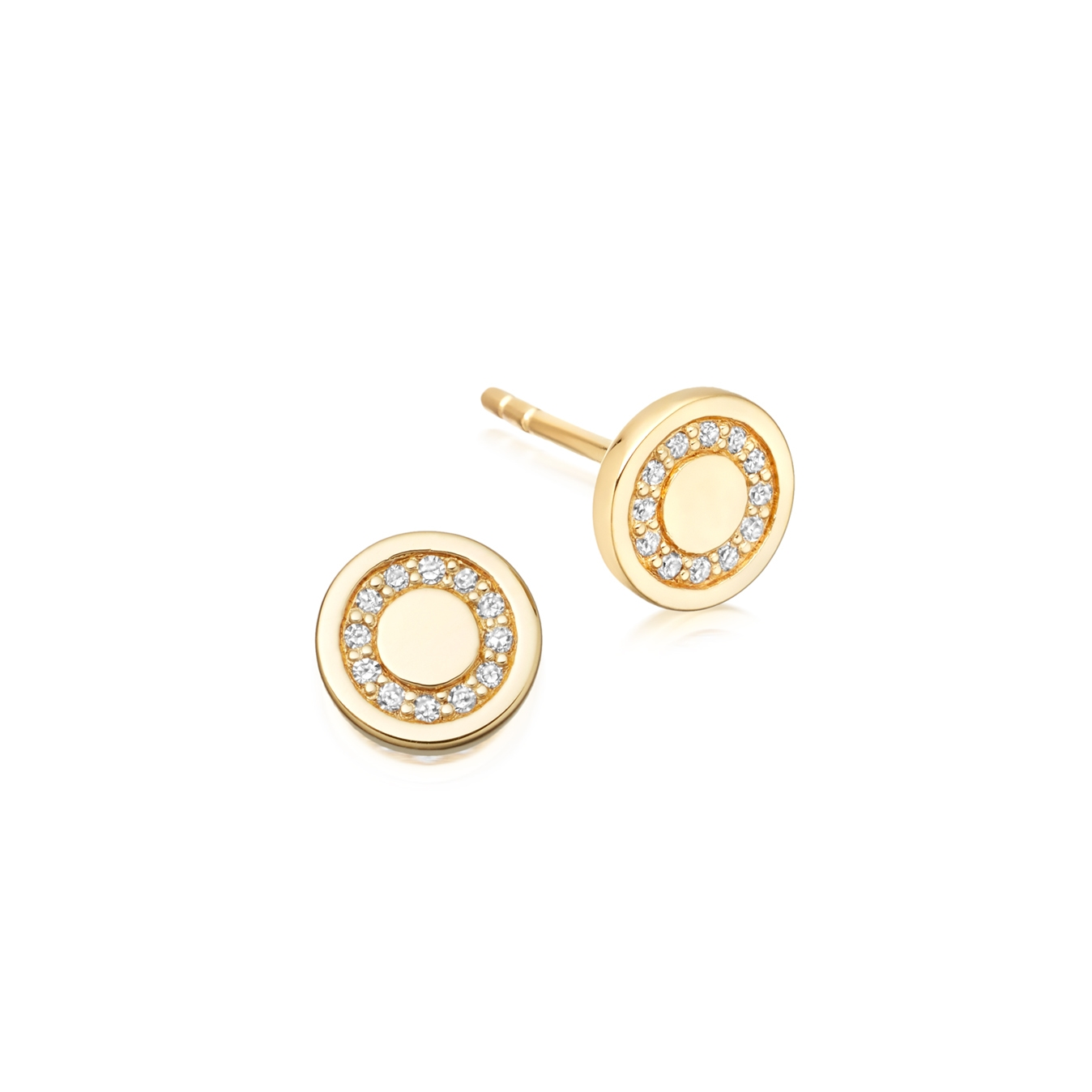Mini Cosmos Stud Earrings