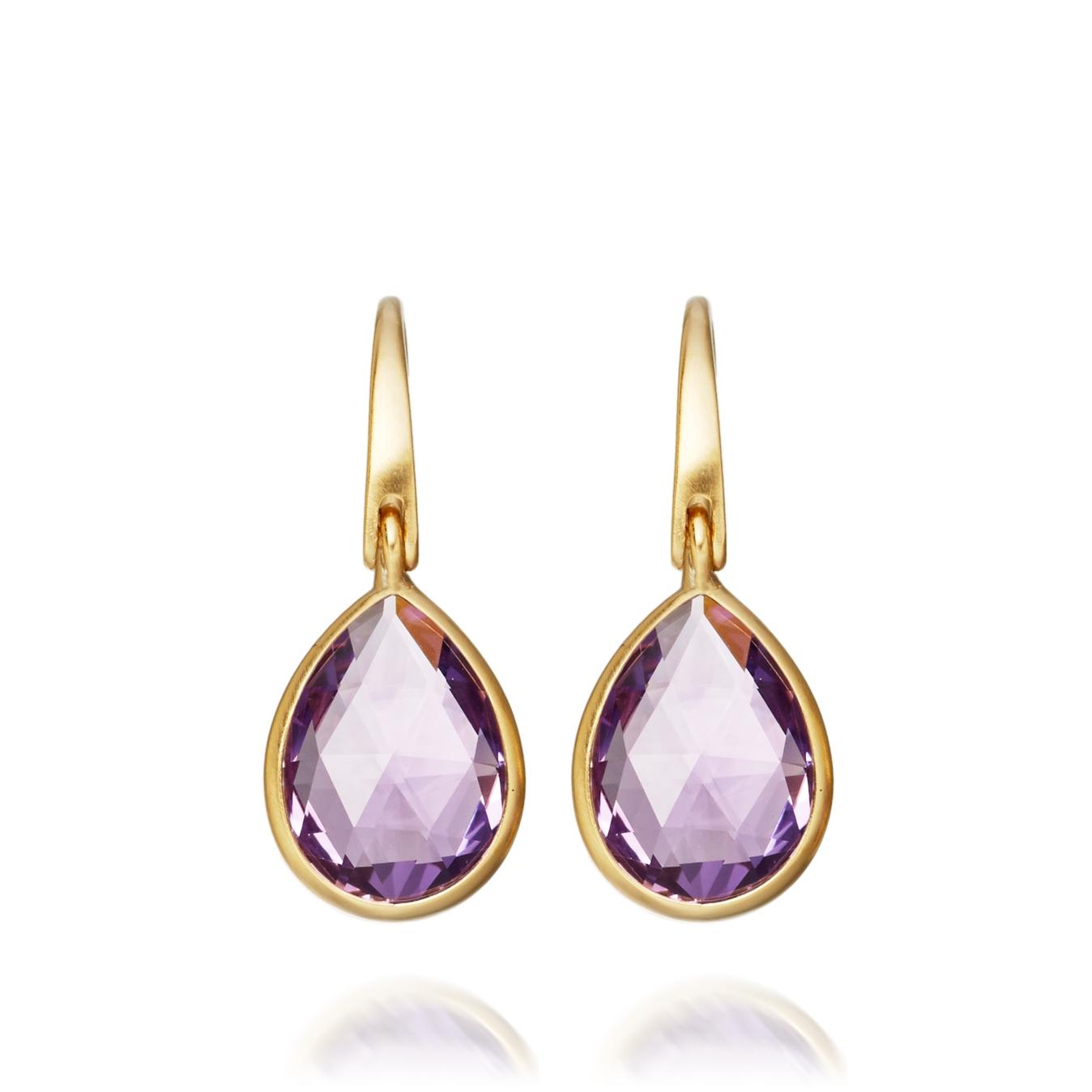 Amethyst Stilla Earrings