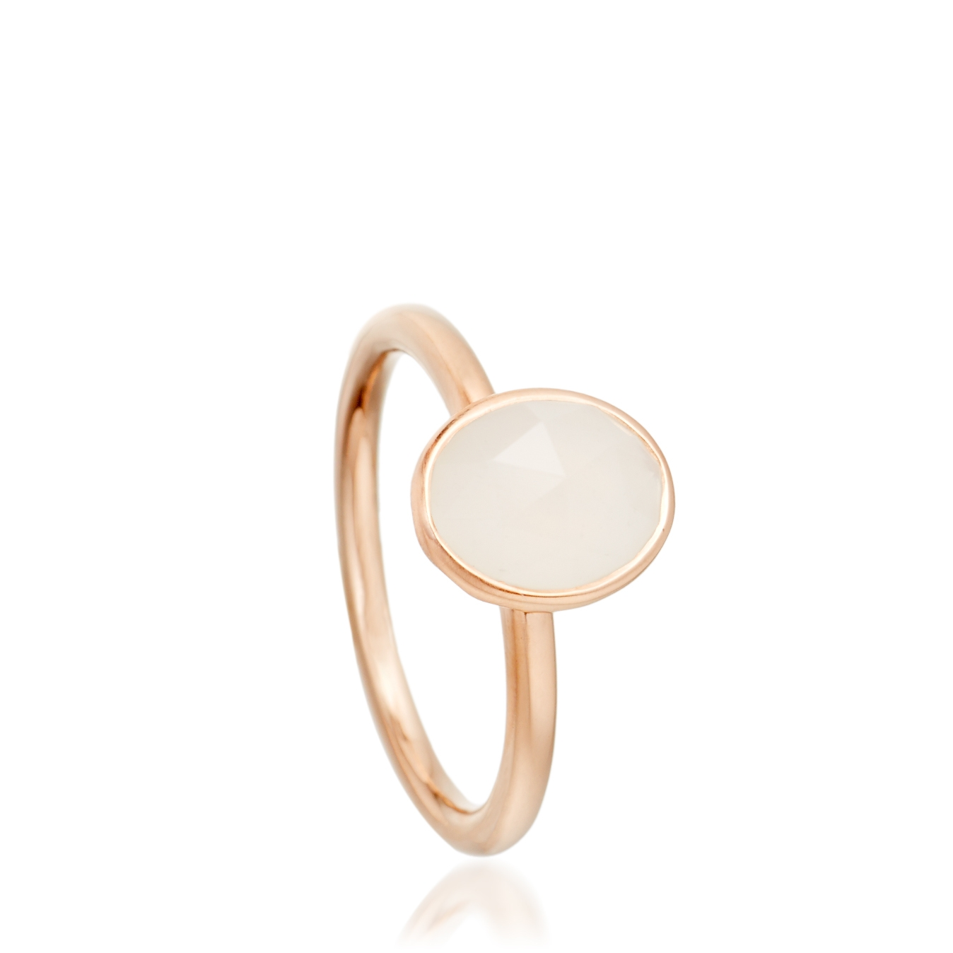 Moonstone Oval Stilla Ring
