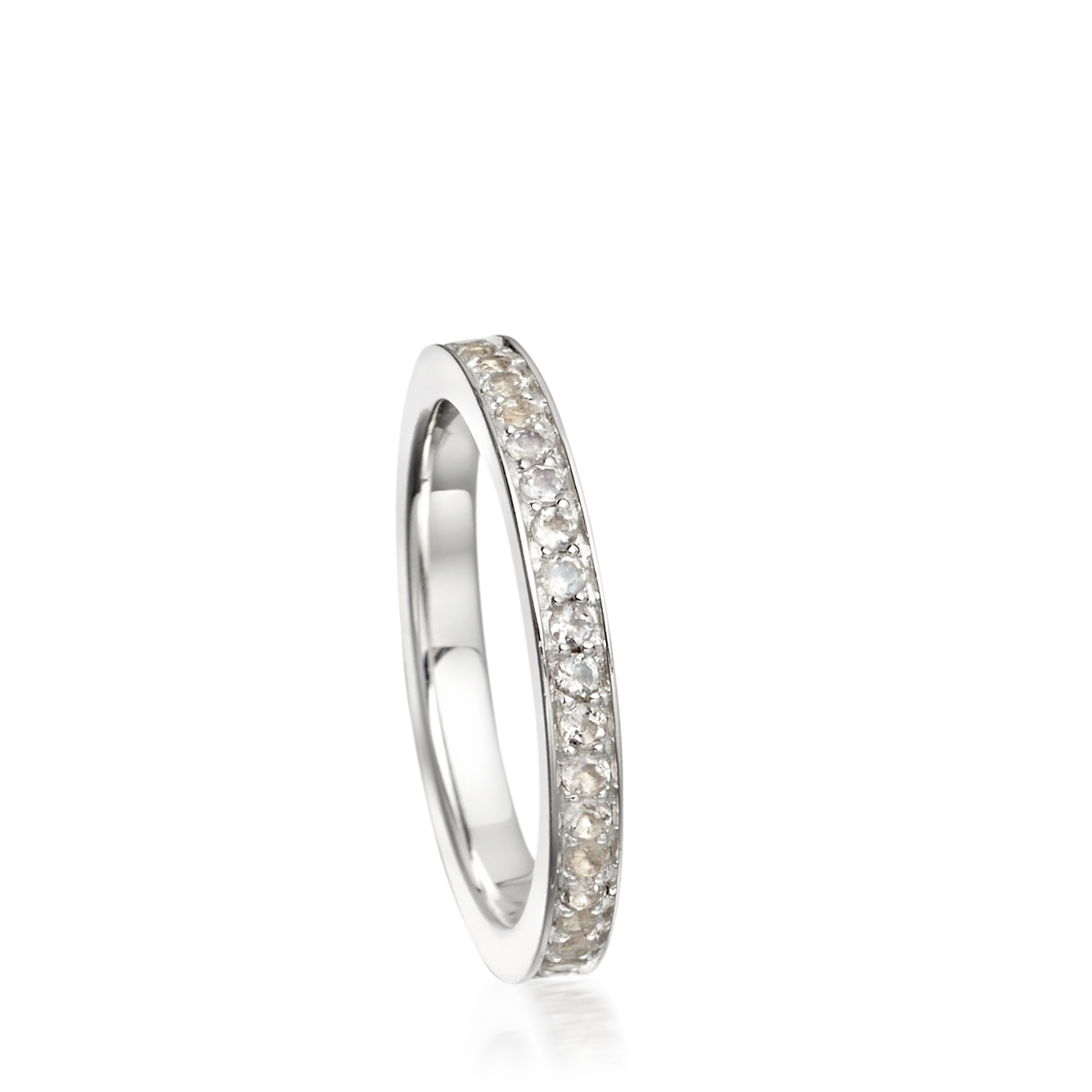 Moonstone Eternity Ring