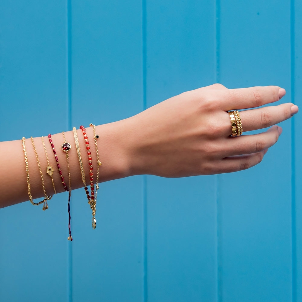 Protection Skinny Biography Bracelet