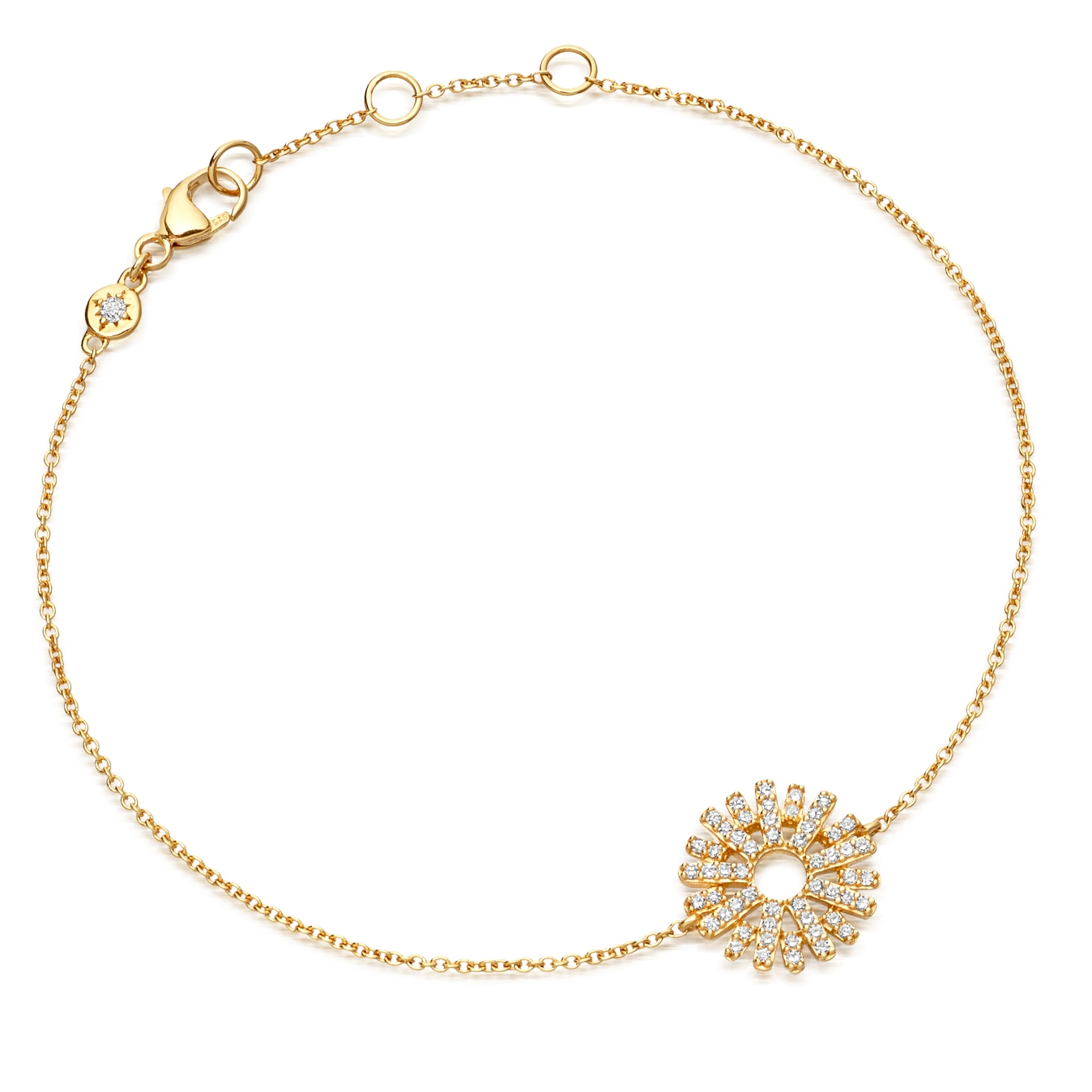 Rising Sun Diamond Bracelet