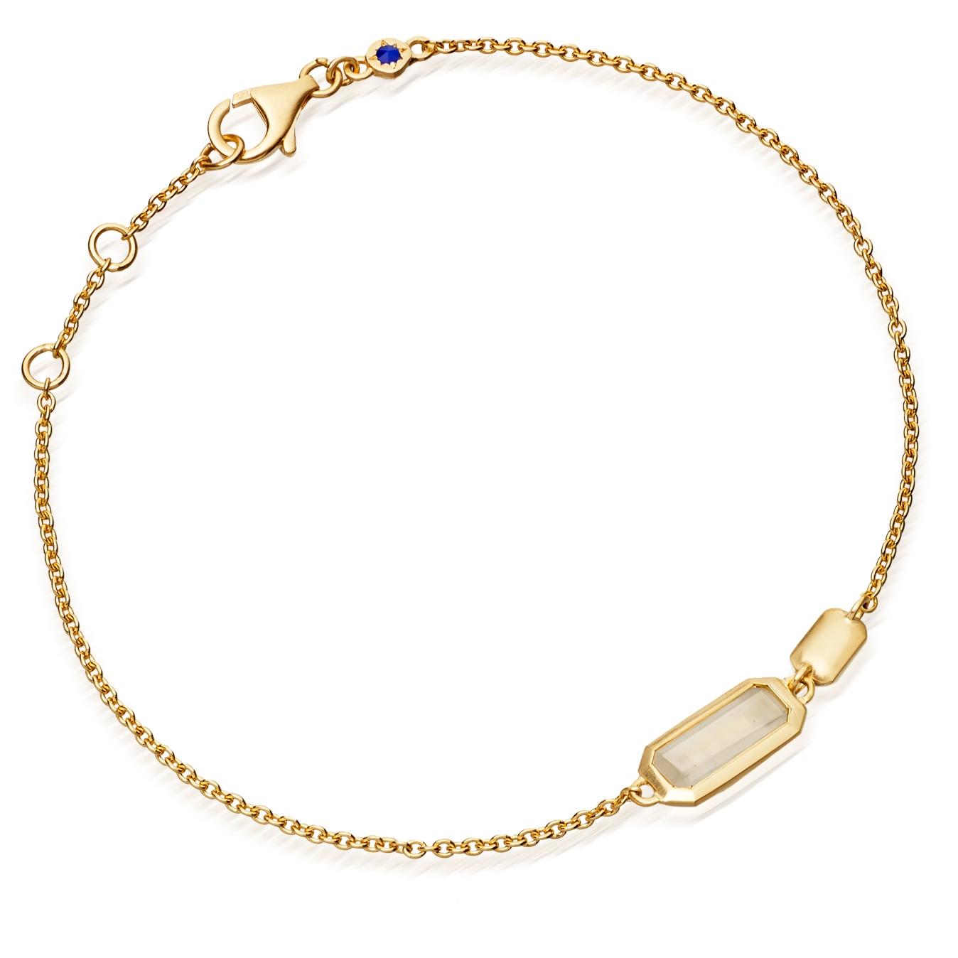 Moonstone Prismic Bracelet