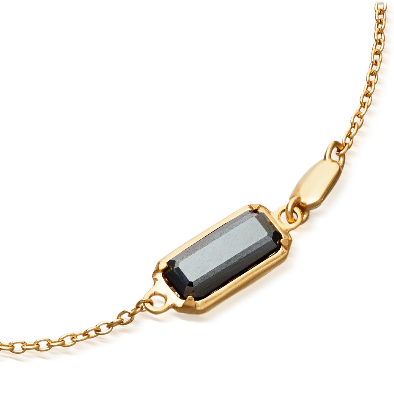 Hematite Prismic Bracelet