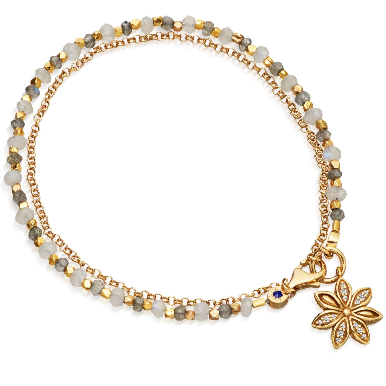 Labradorite Star Anise Biography Bracelet