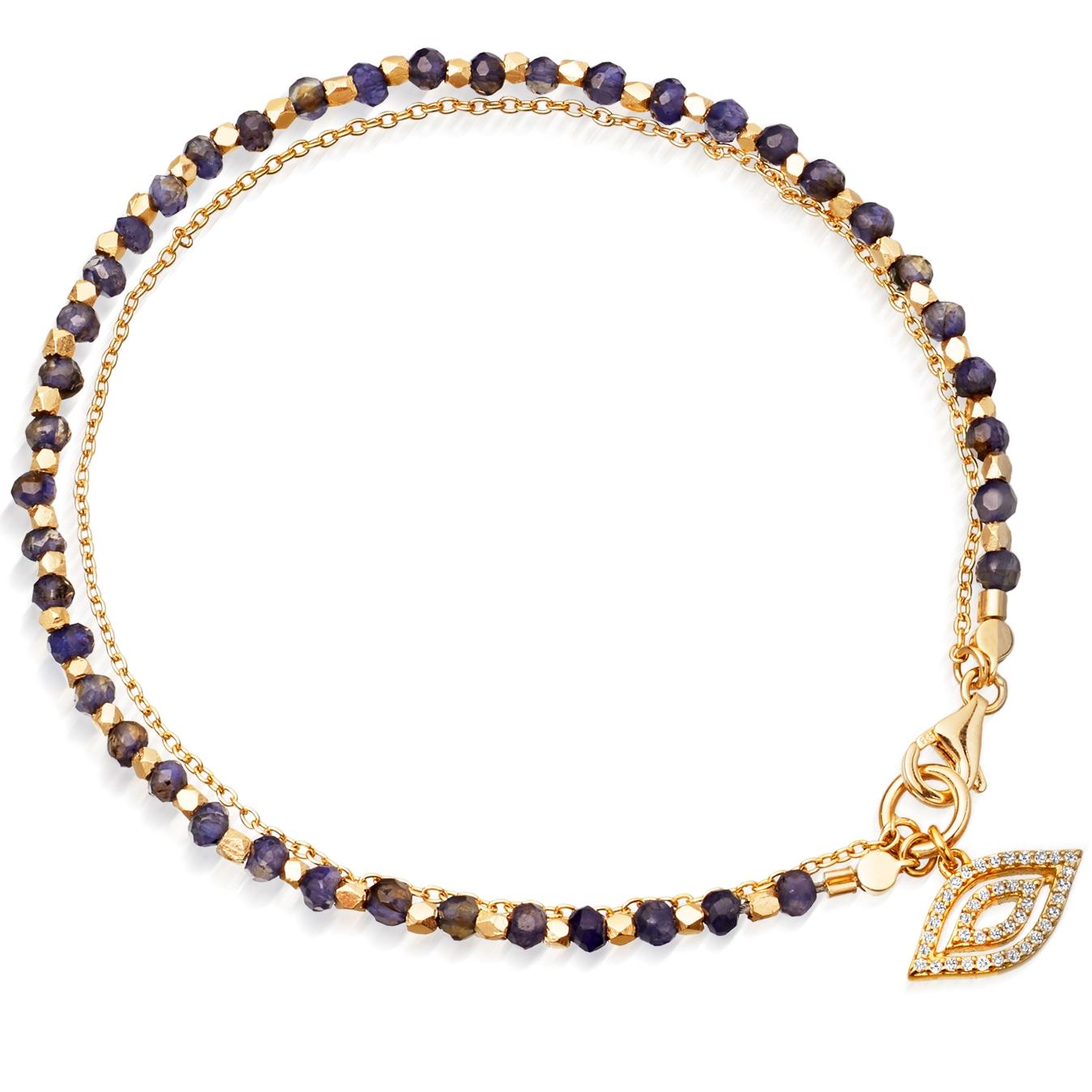 Sapphire Evil Eye Fine Biography Bracelet