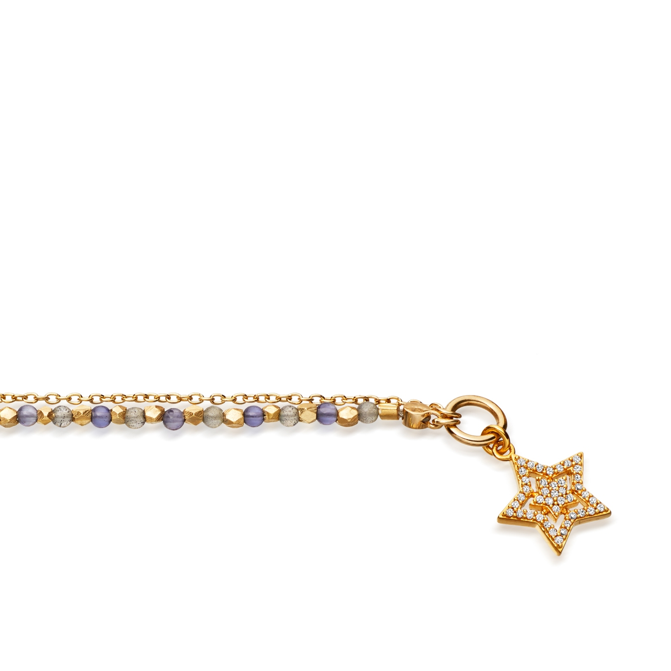Iolite Super Star Fine Biography Bracelet