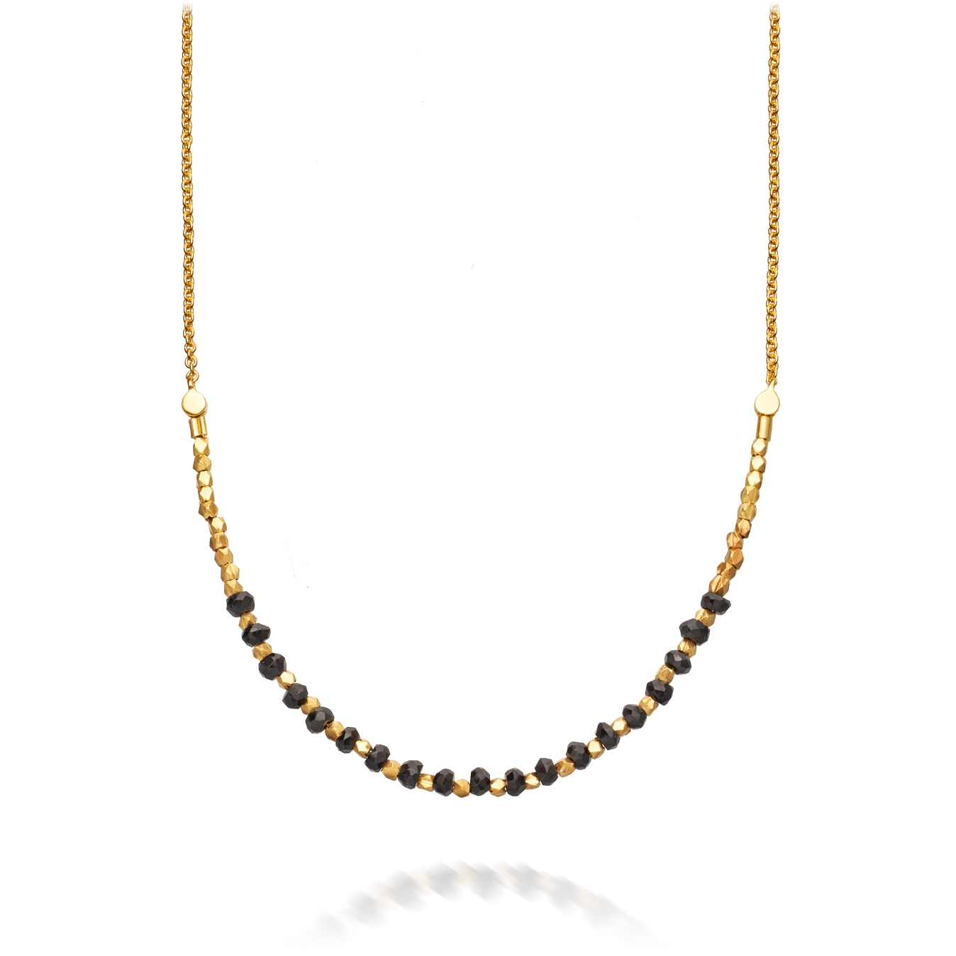 Spinel Detail Biography Necklace