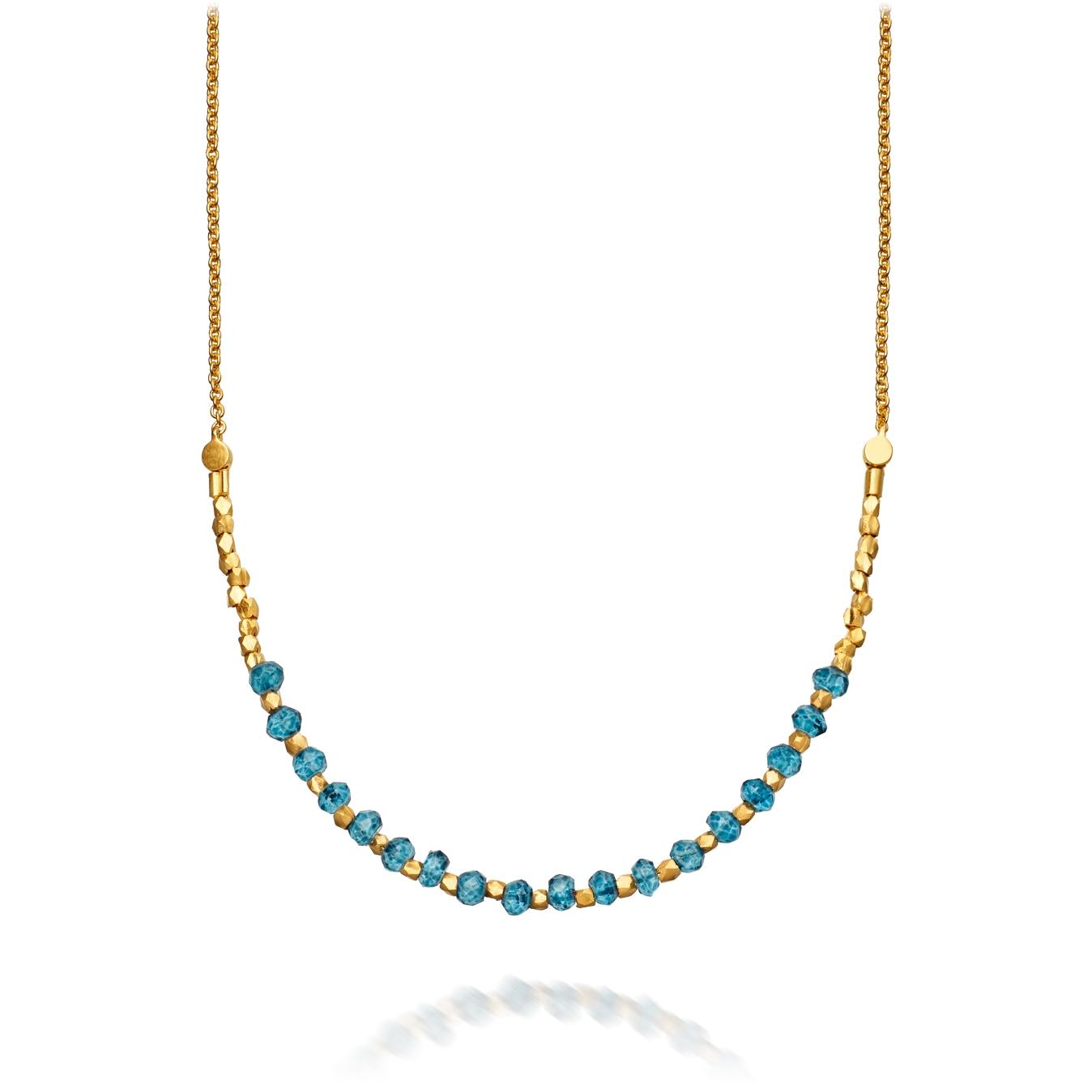 Ocean Quartz Detail Biography Necklace