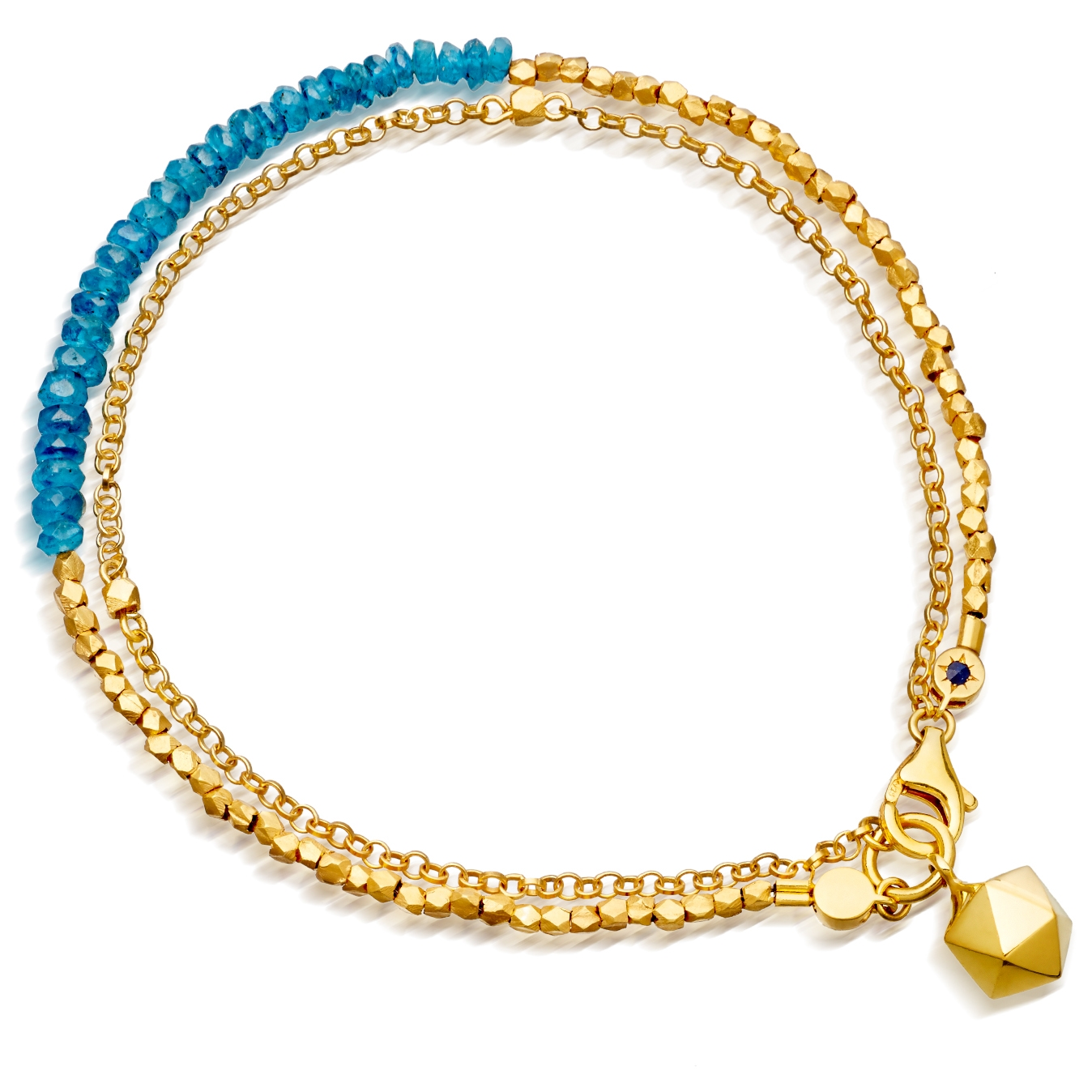 Ocean Quartz Water Element Biography Bracelet