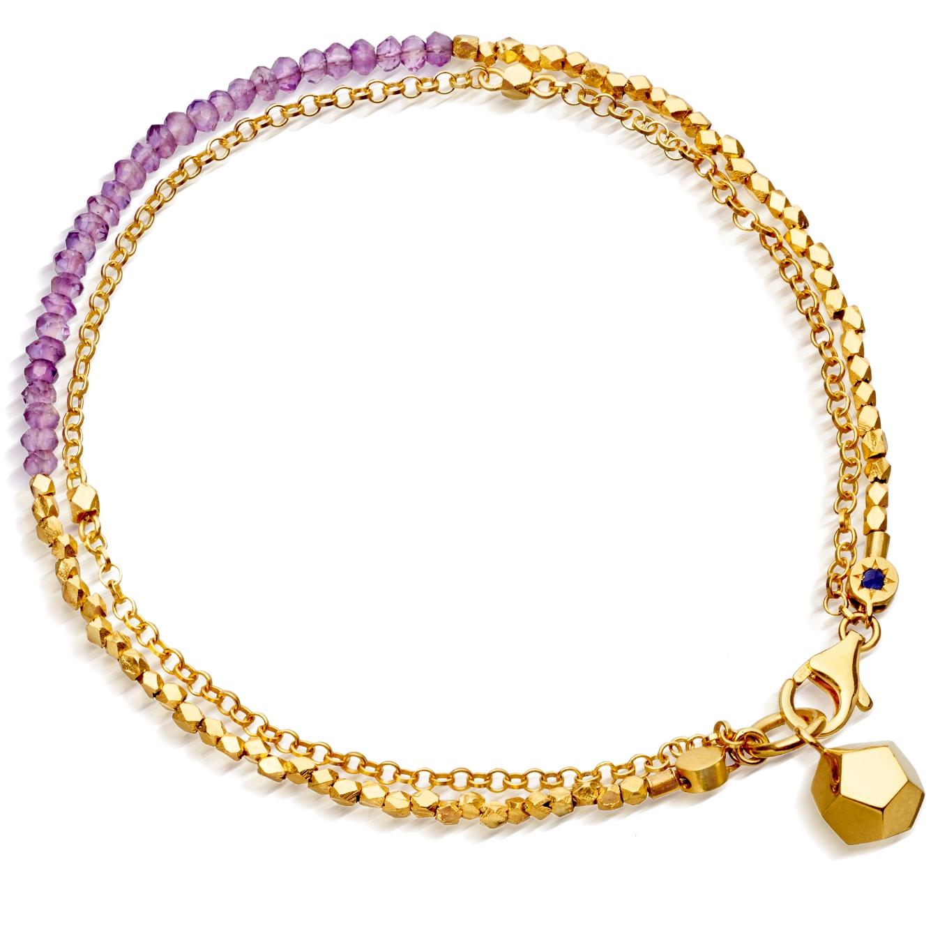 Amethyst Spirit Element Biography Bracelet