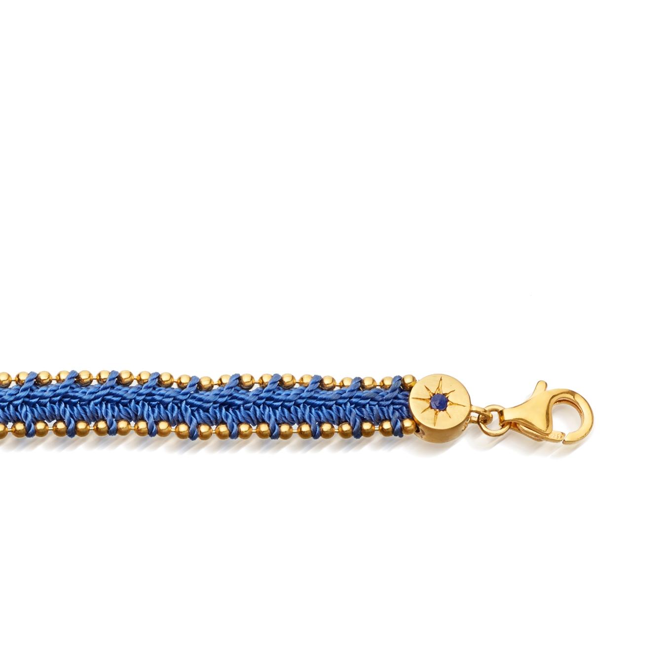 Woven Biography Bracelet