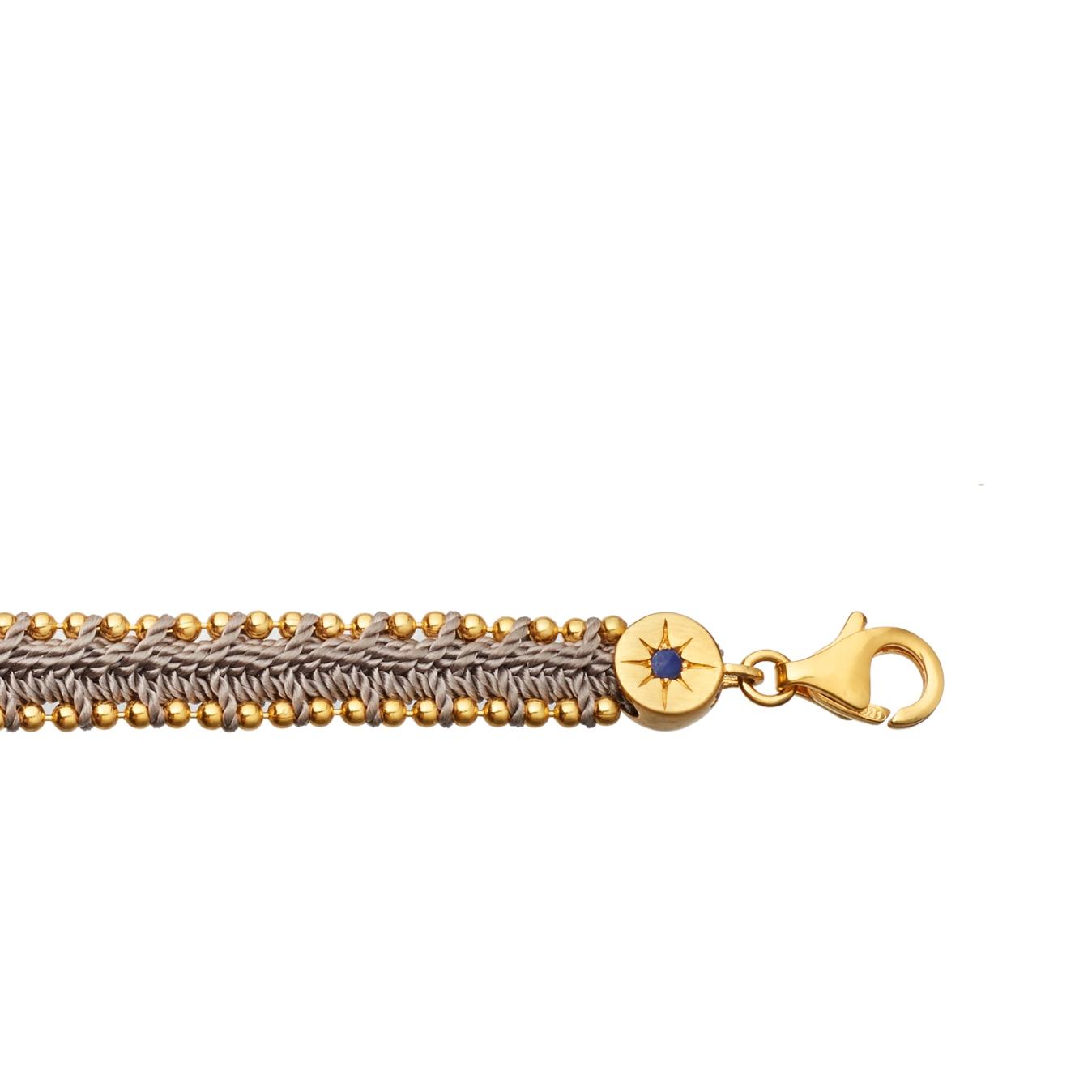 Thundercloud Woven Biography Bracelet