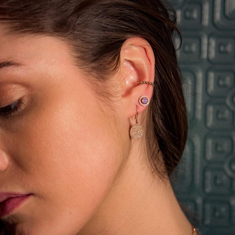 Beaded Stilla Ear Cuff