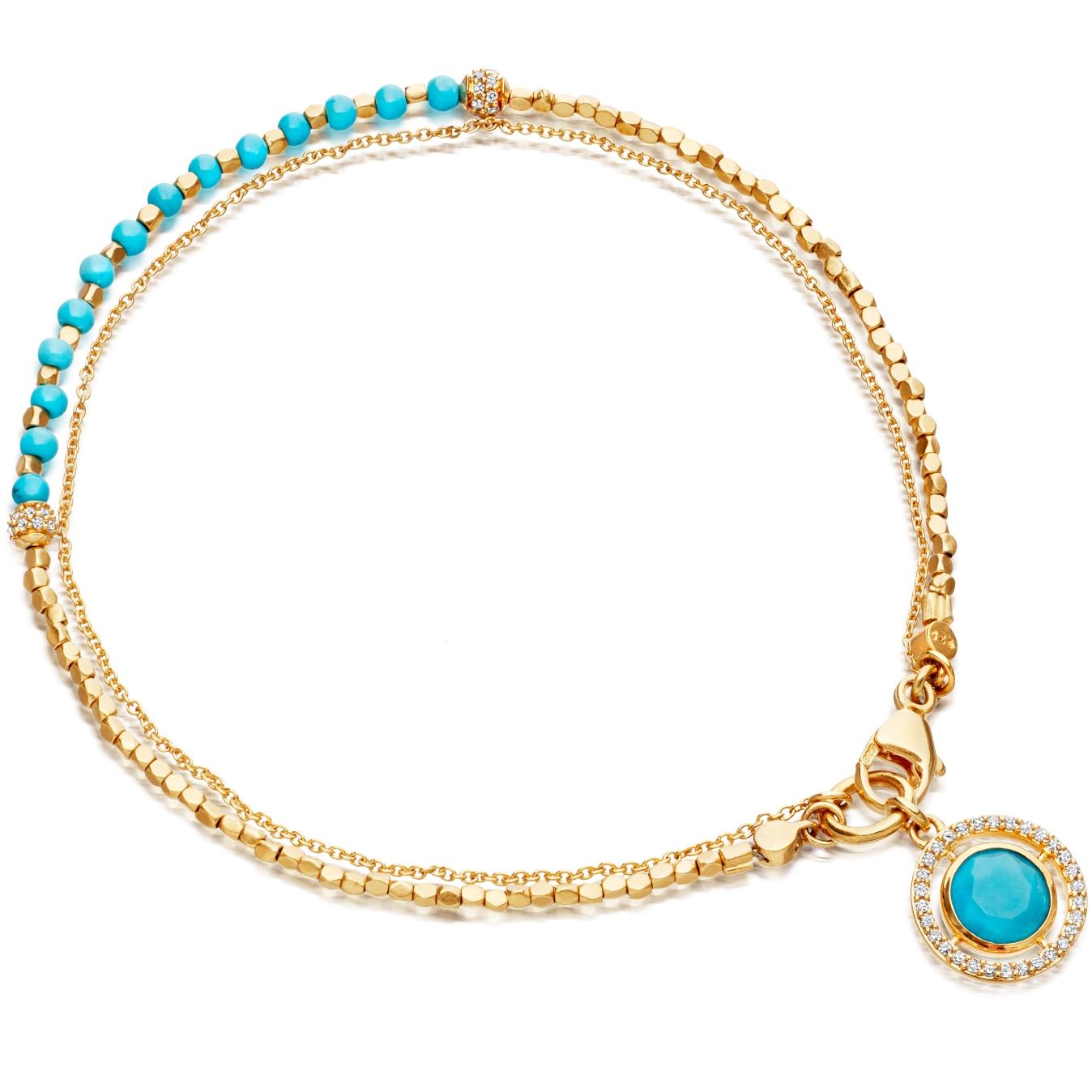 Turquoise Celestial Fine Biography Bracelet