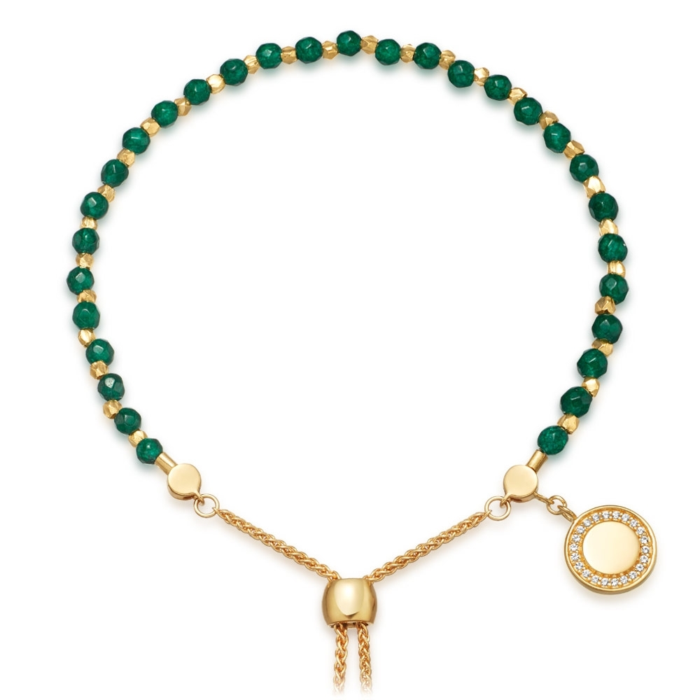 Green Onyx Cosmos Kula Bracelet