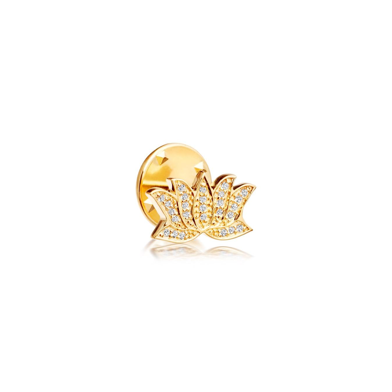 Lotus Biography Pin