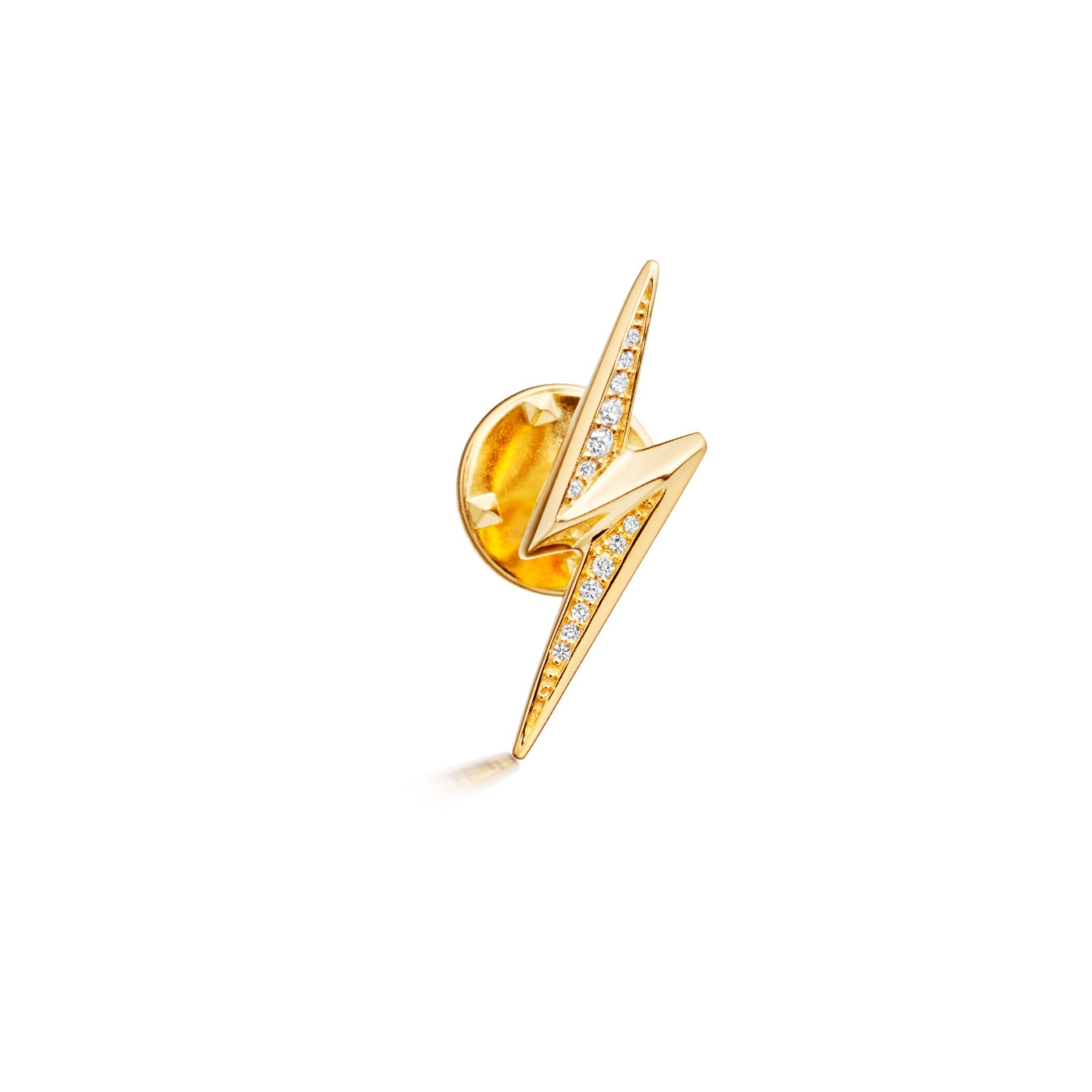Lightning Bolt Biography Pin