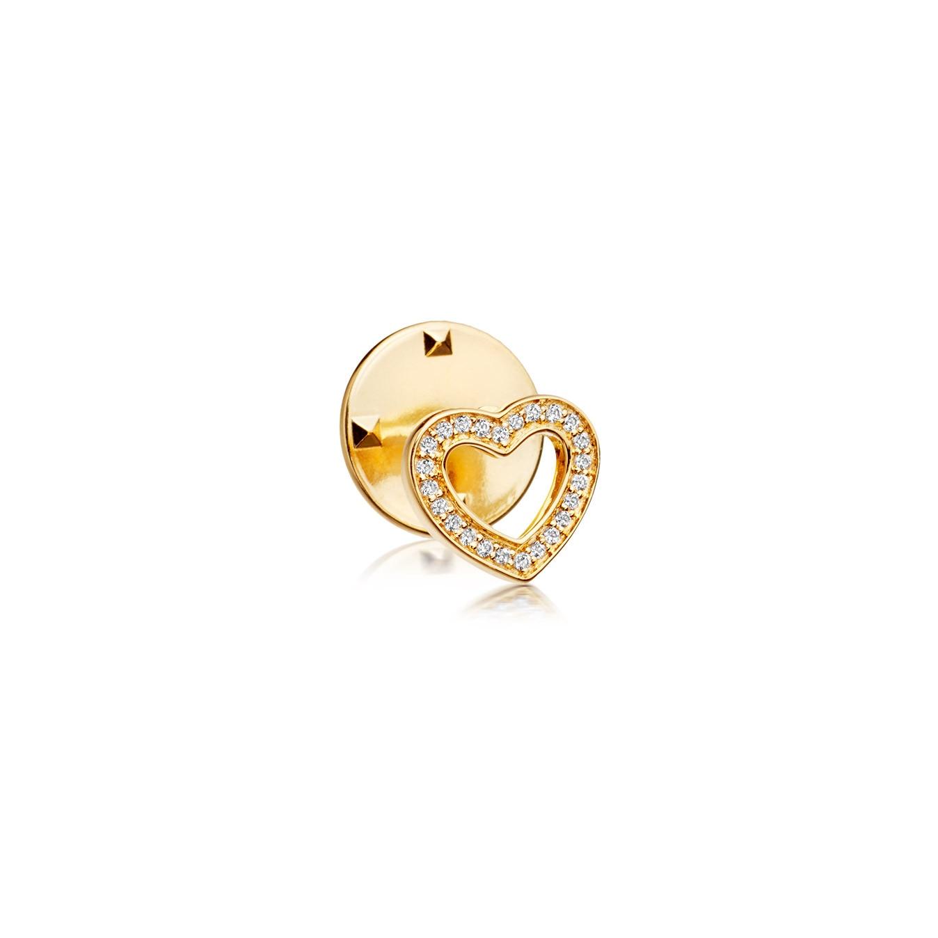 Heart Biography Pin