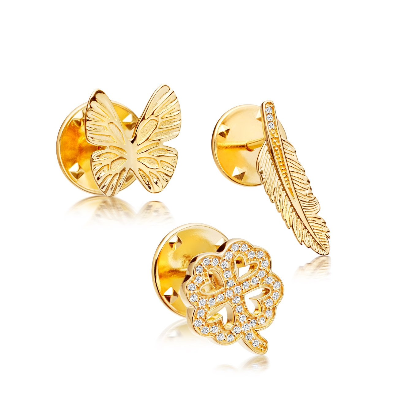 Butterfly Biography Pin