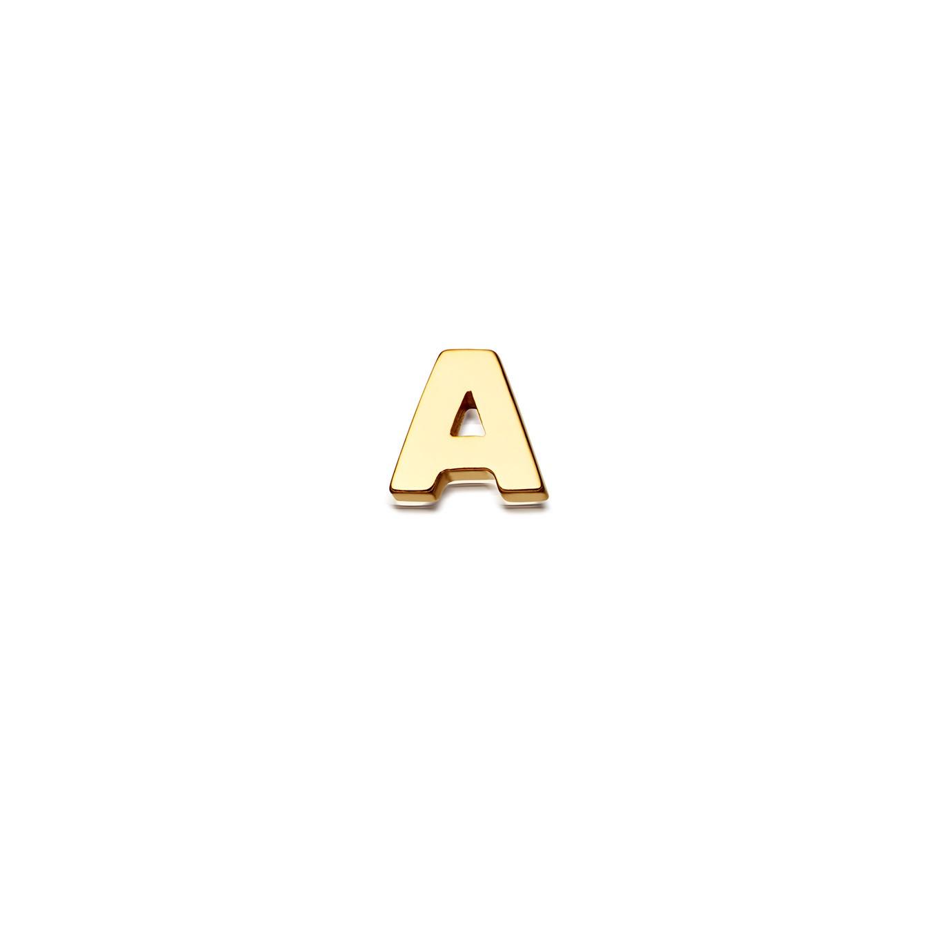 Initial 'A' Biography Pin