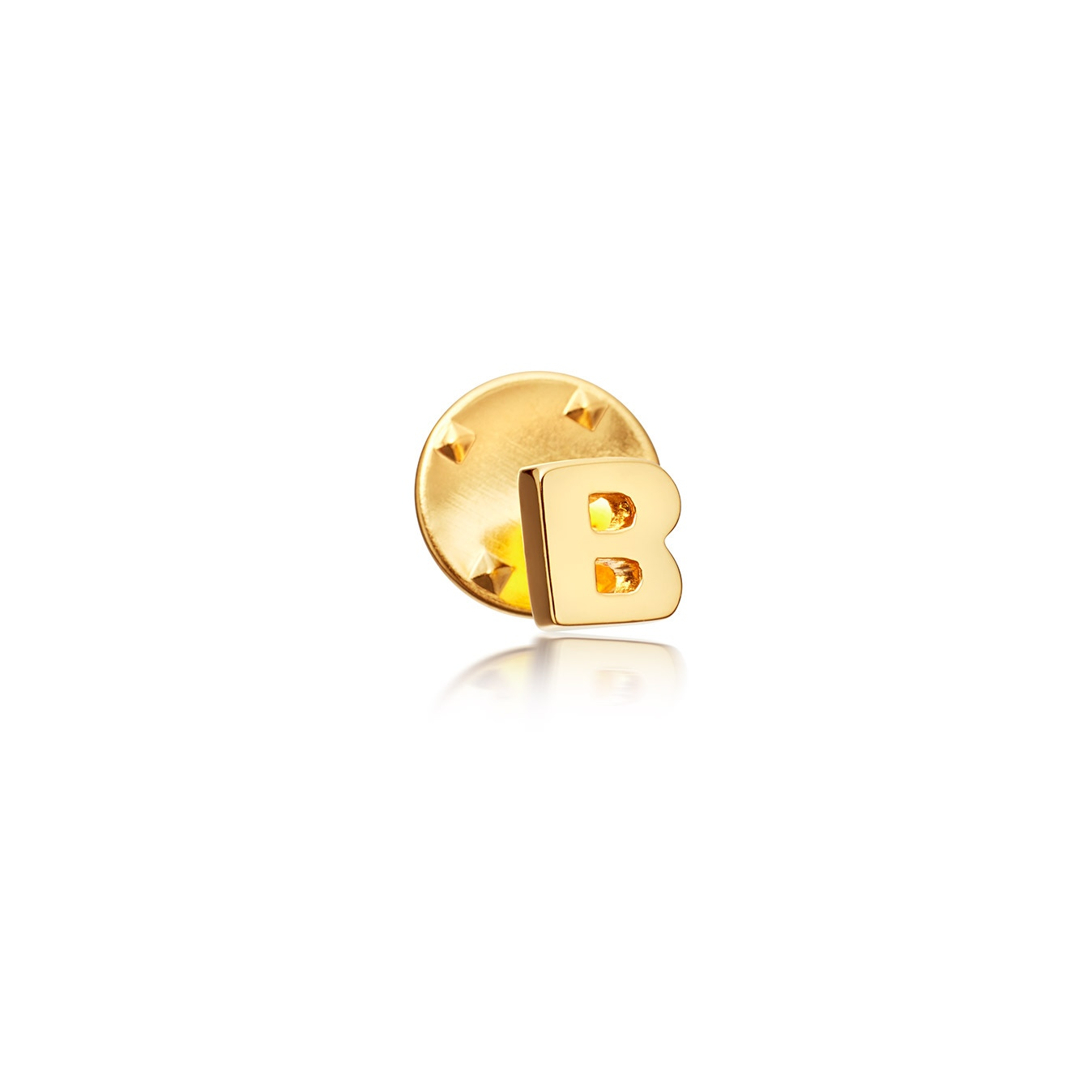Initial 'B' Biography Pin