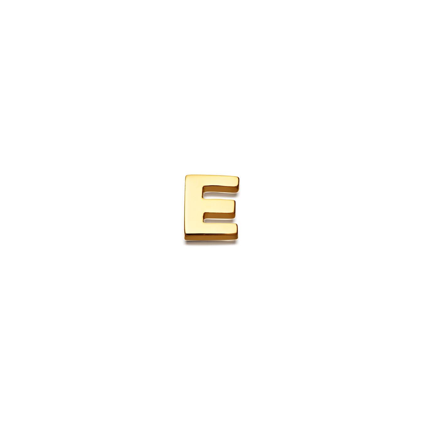 Initial 'E' Biography Pin