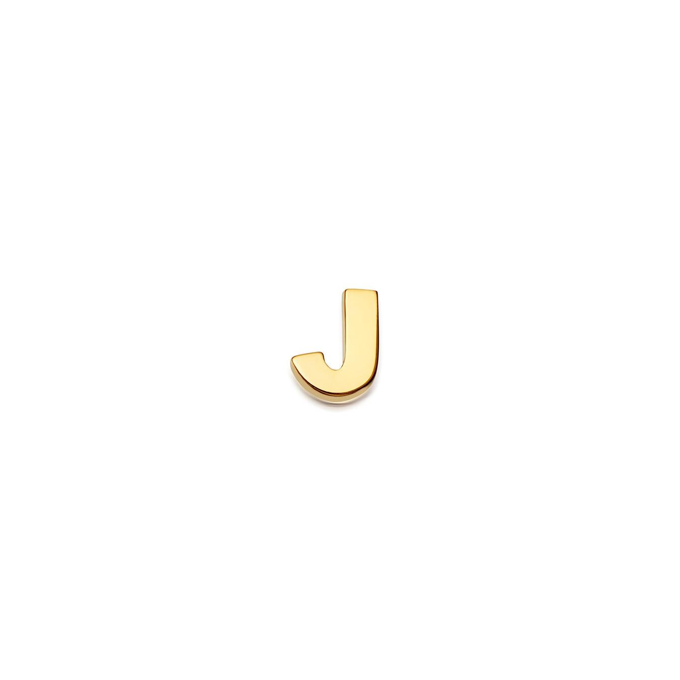 Initial 'J' Biography Pin