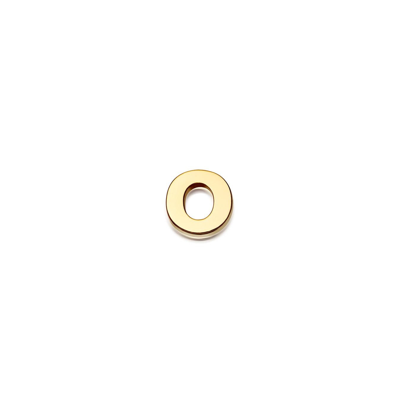 Initial 'O' Alphabet Pin
