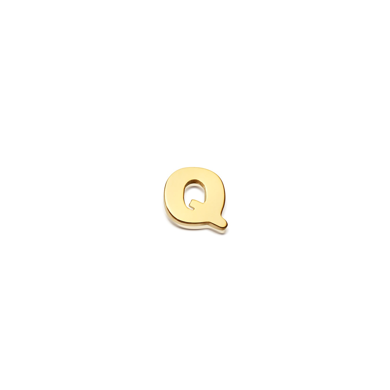 Initial 'Q' Biography Pin