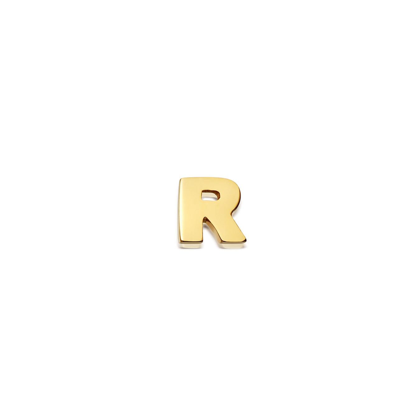 Initial 'R' Biography Pin