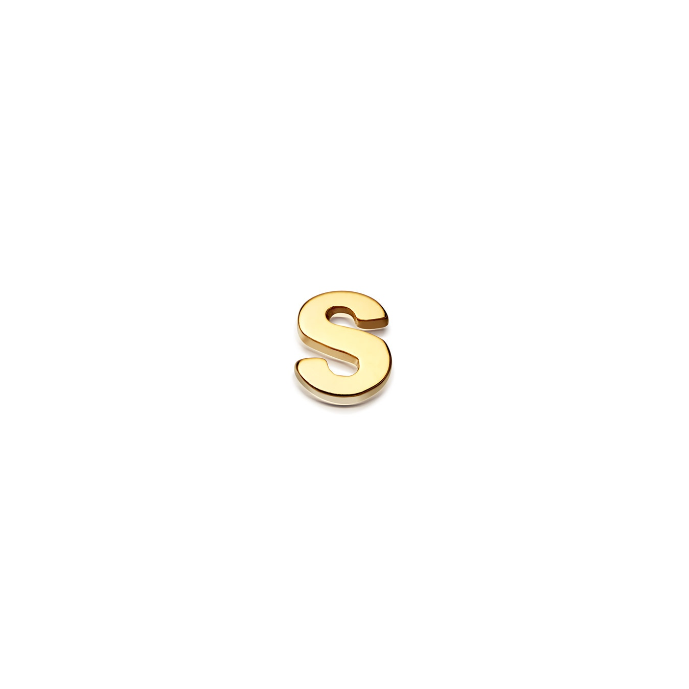 Initial 'S' Biography Pin