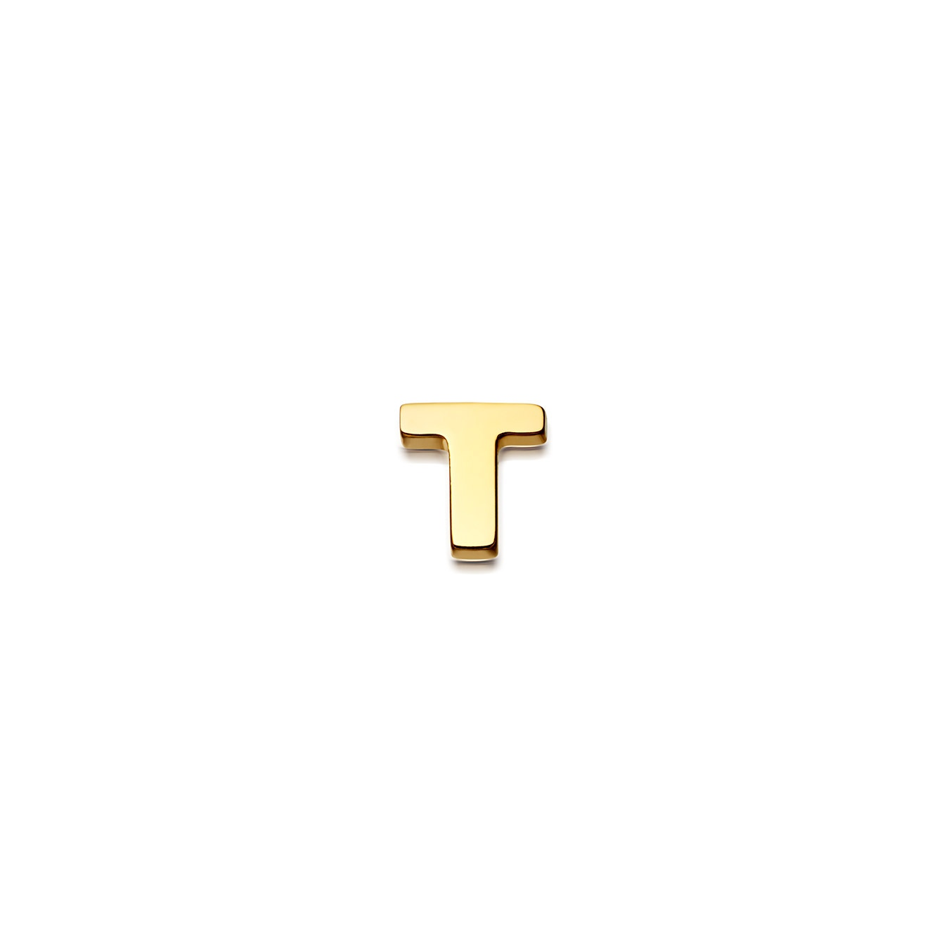 Initial 'T' Biography Pin