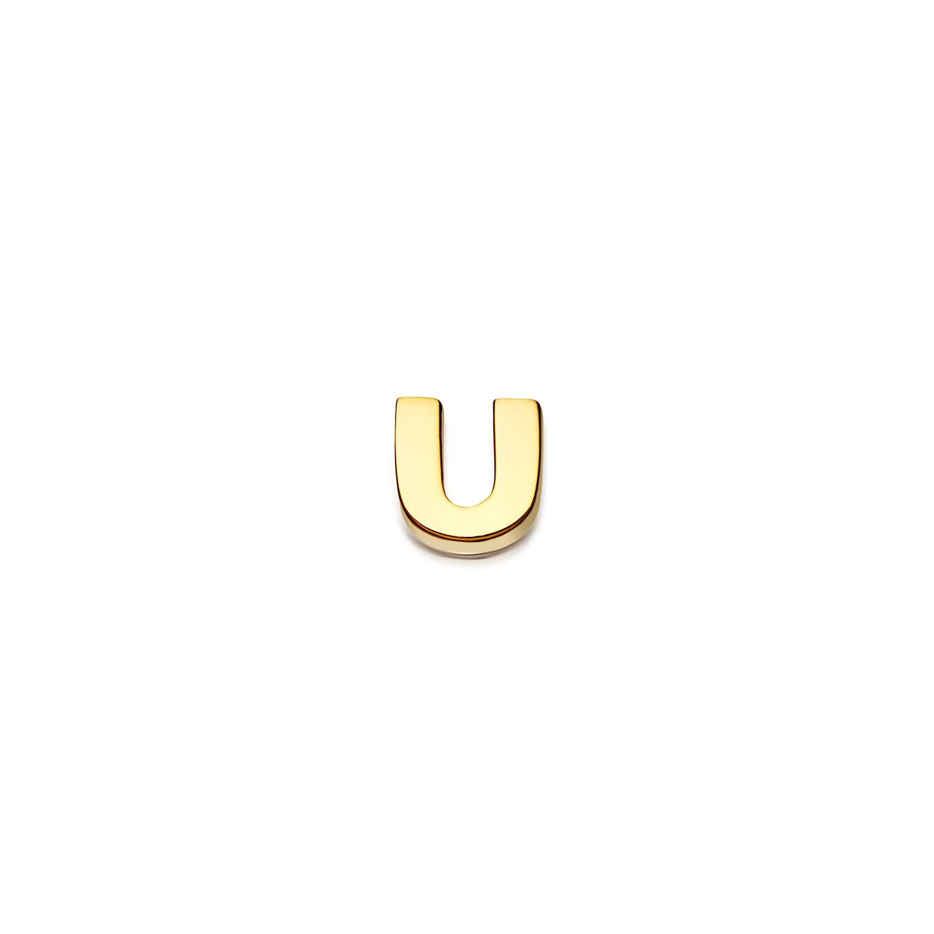 Initial 'U' Biography Pin