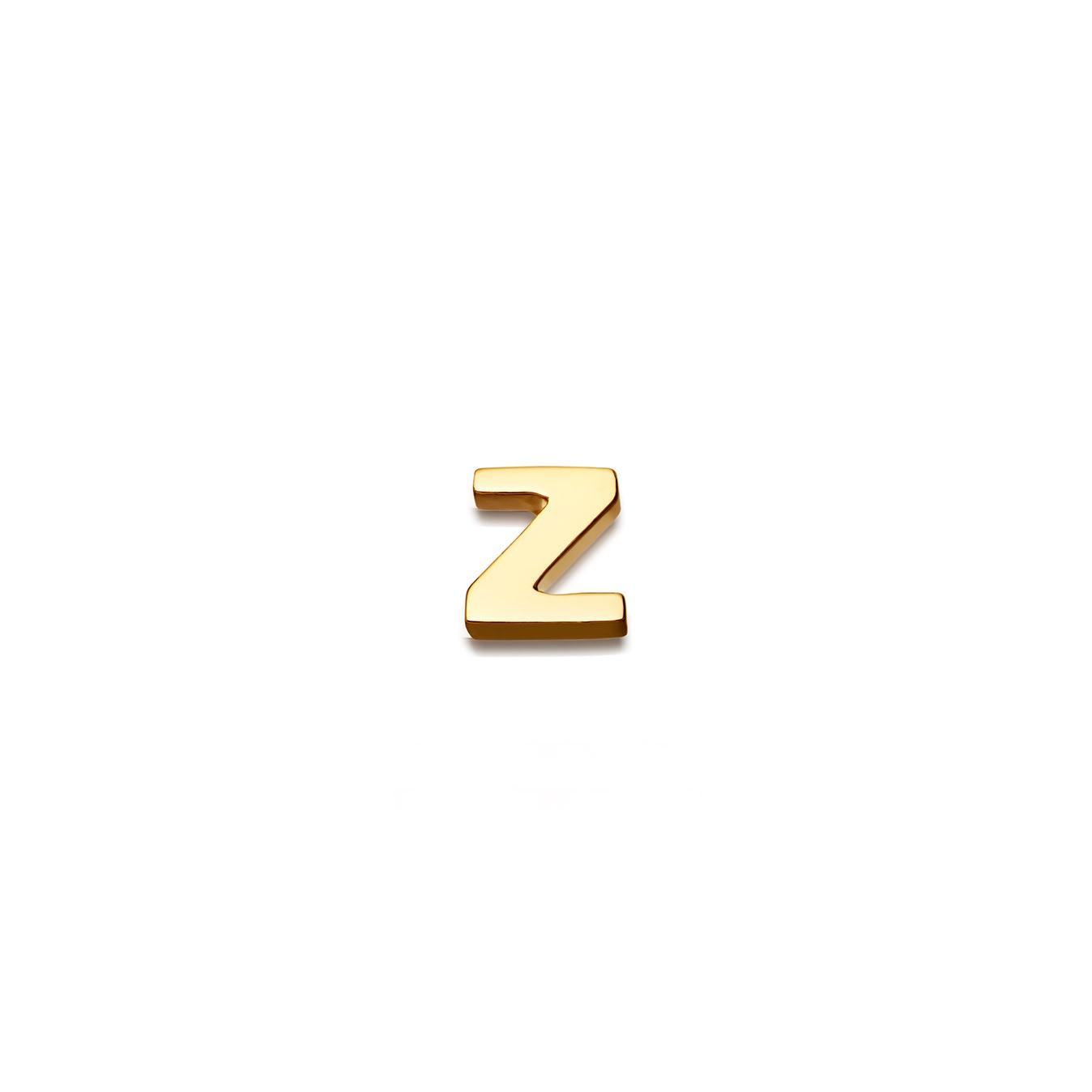 Initial 'Z' Biography Pin