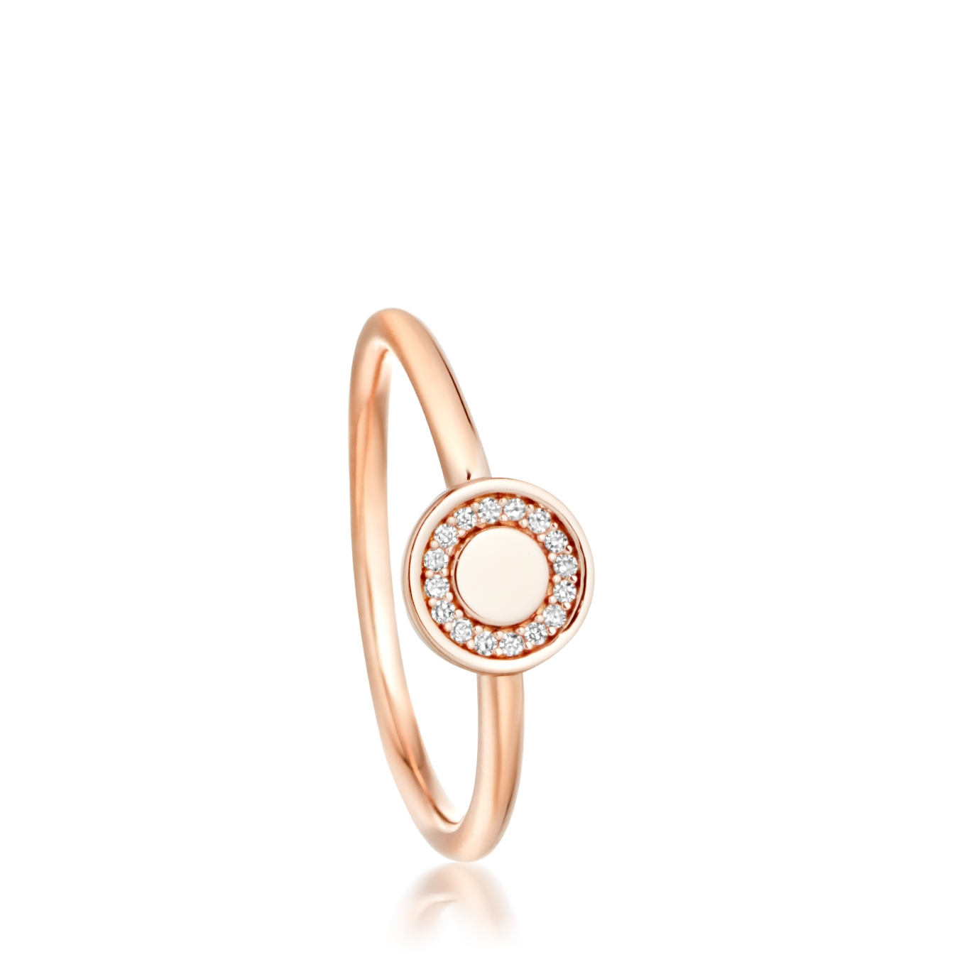 Mini Cosmos Diamond Ring