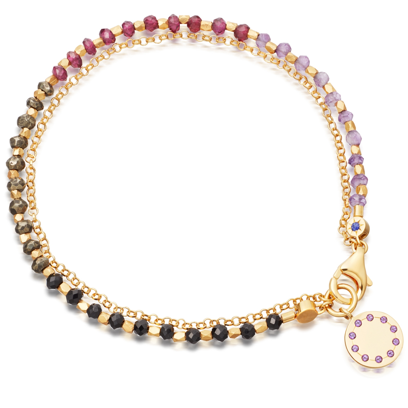 Purple Haze Dégradé Biography Bracelet