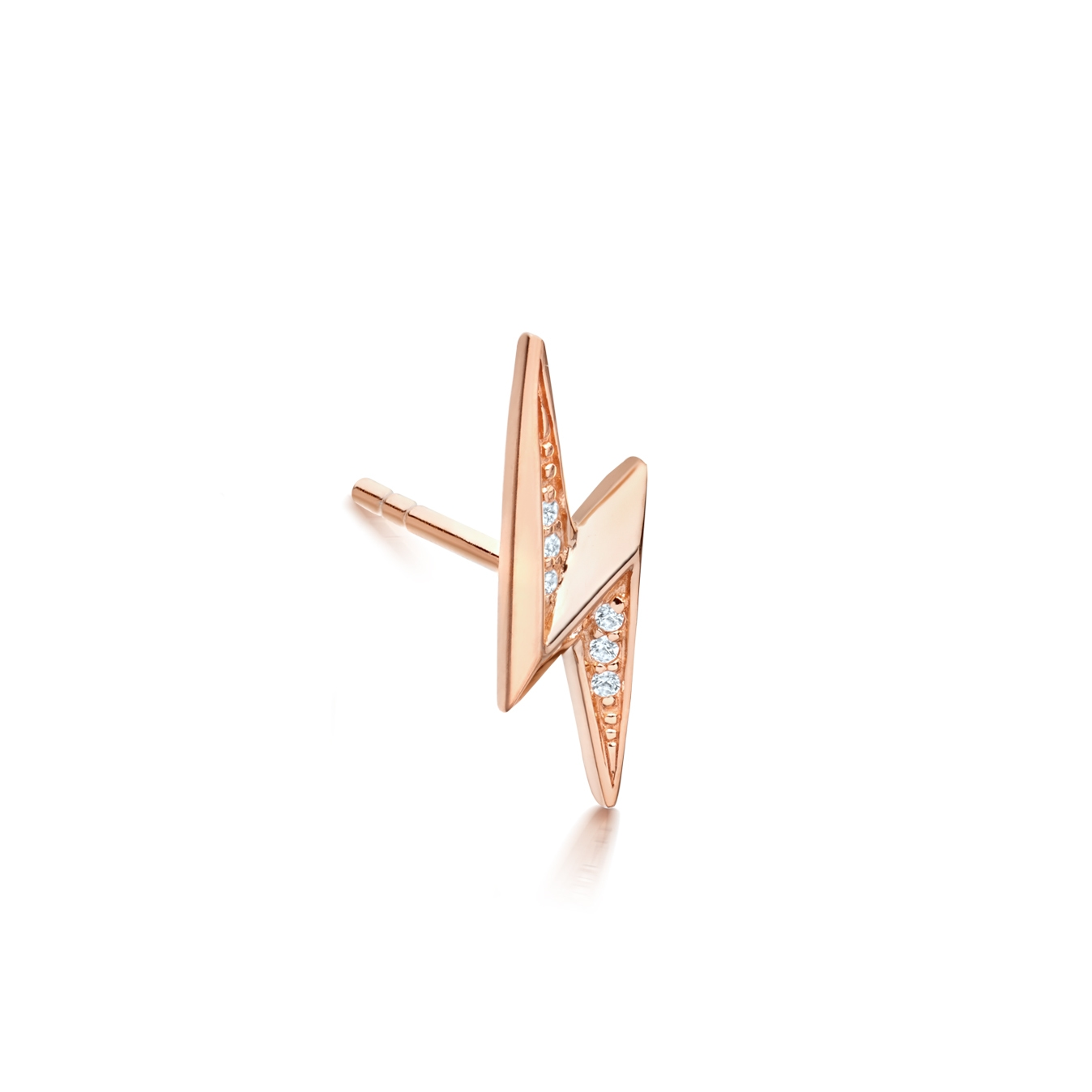 Mini Lightning Biography Single Stud Earring