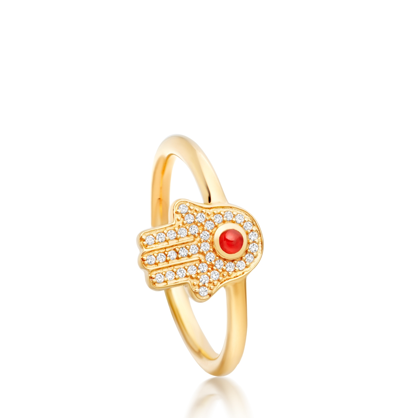 Hamsa Biography Ring