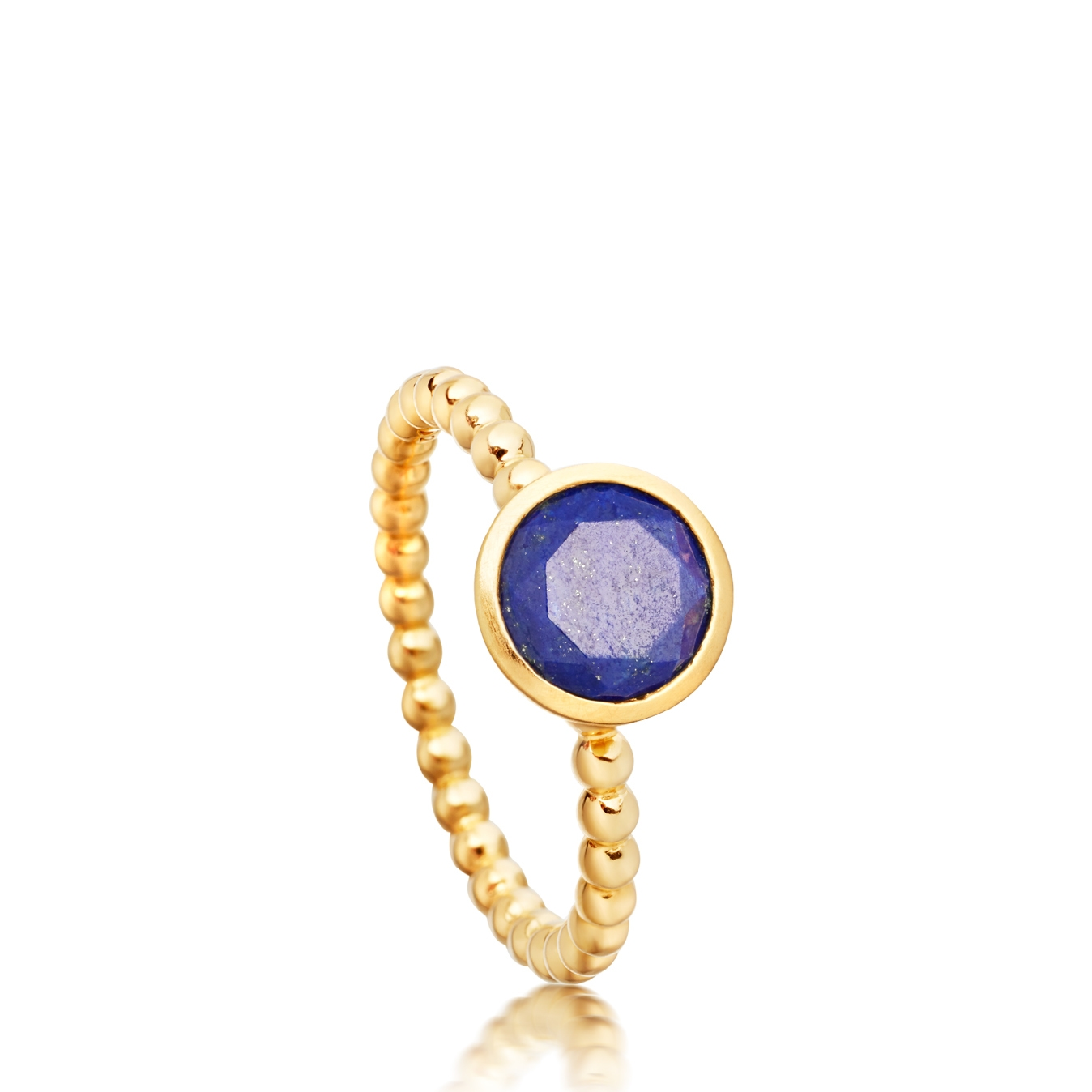Mini Lapis Beaded Stilla Ring