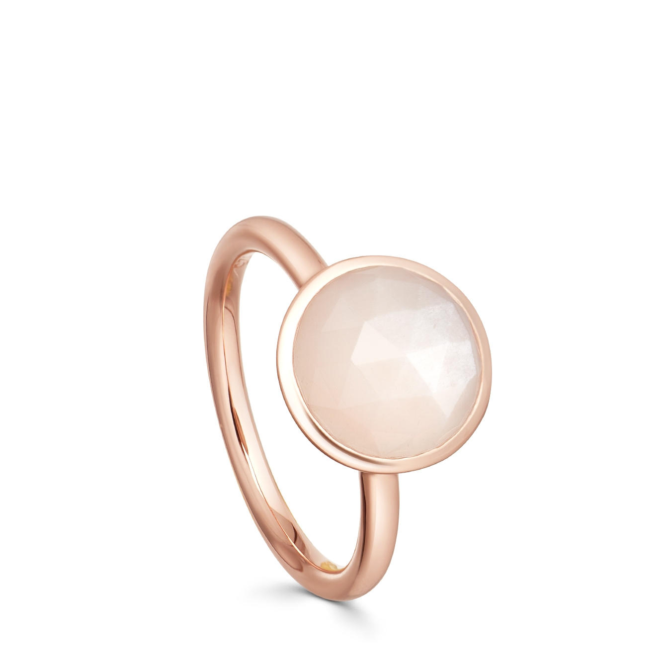 Round Moonstone Stilla Ring