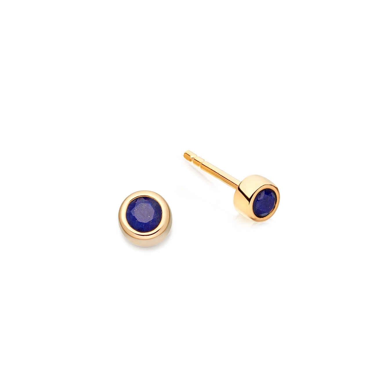 Mini Lapis Stilla Stud Earrings