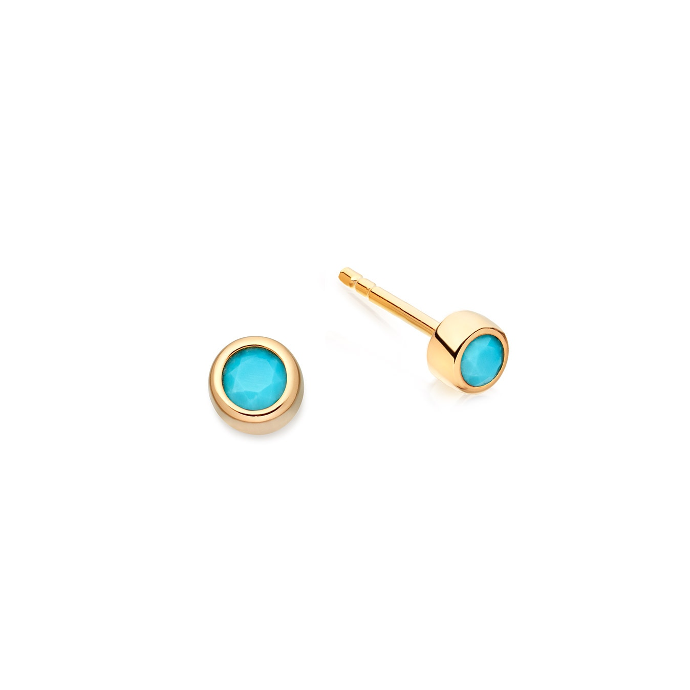 Mini Turquoise Stilla Stud Earrings