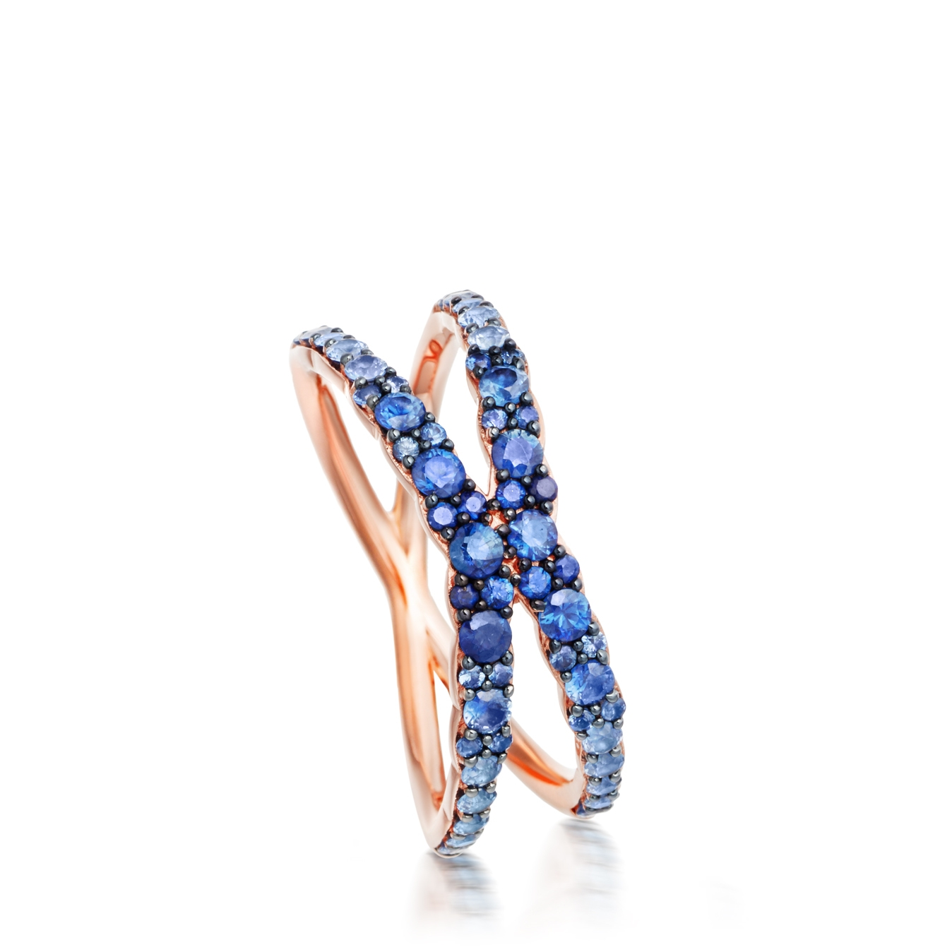 Fusion Interstellar Sapphire Ring