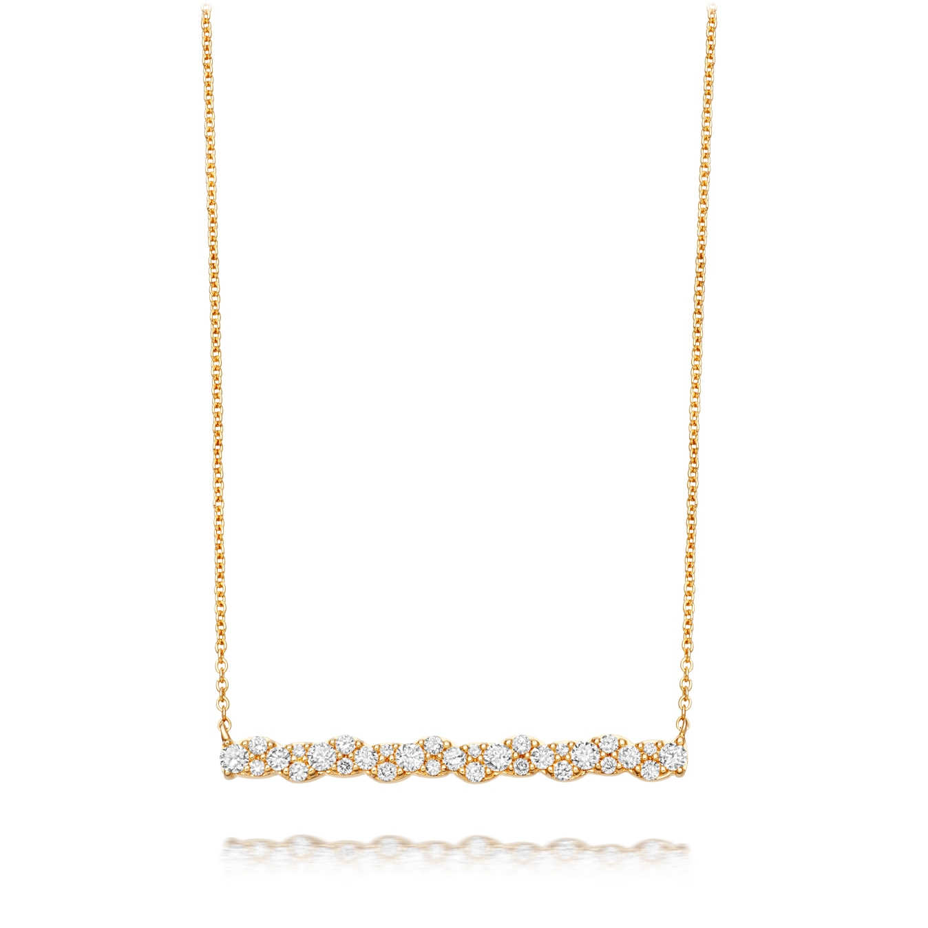 Linia Interstellar Diamond Pendant Necklace