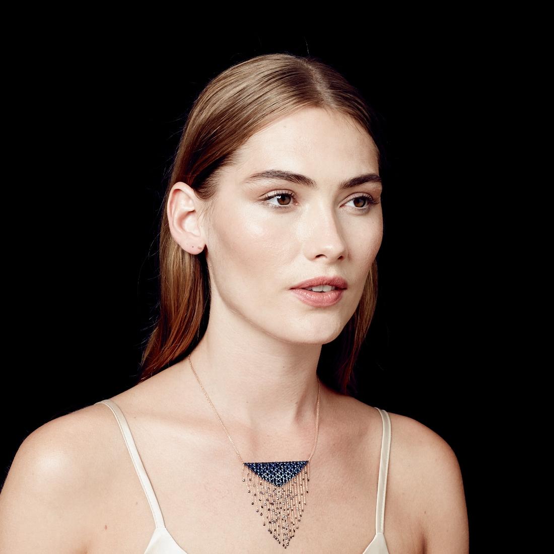 Sapphire Interstellar Necklace