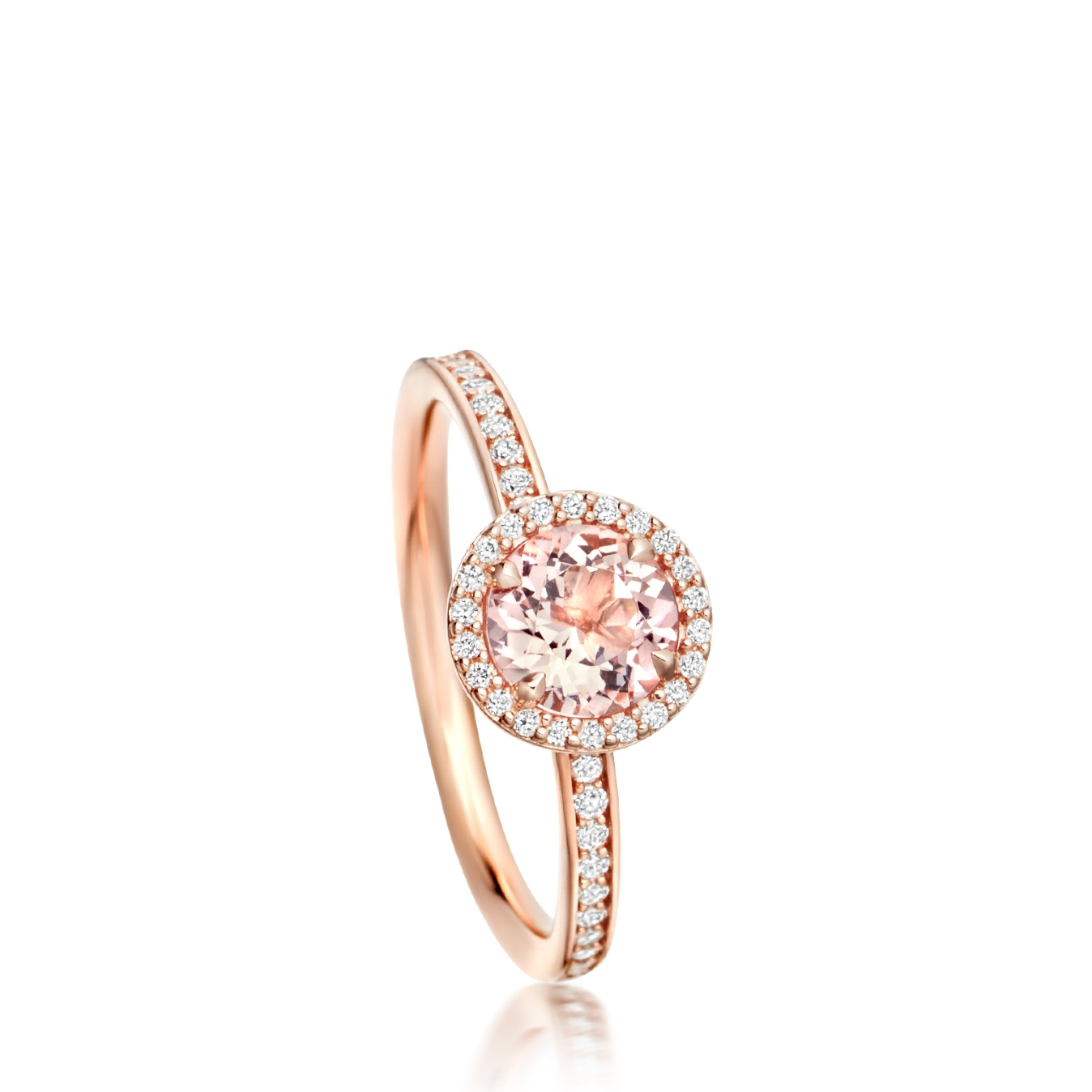 Leah Morganite Ring