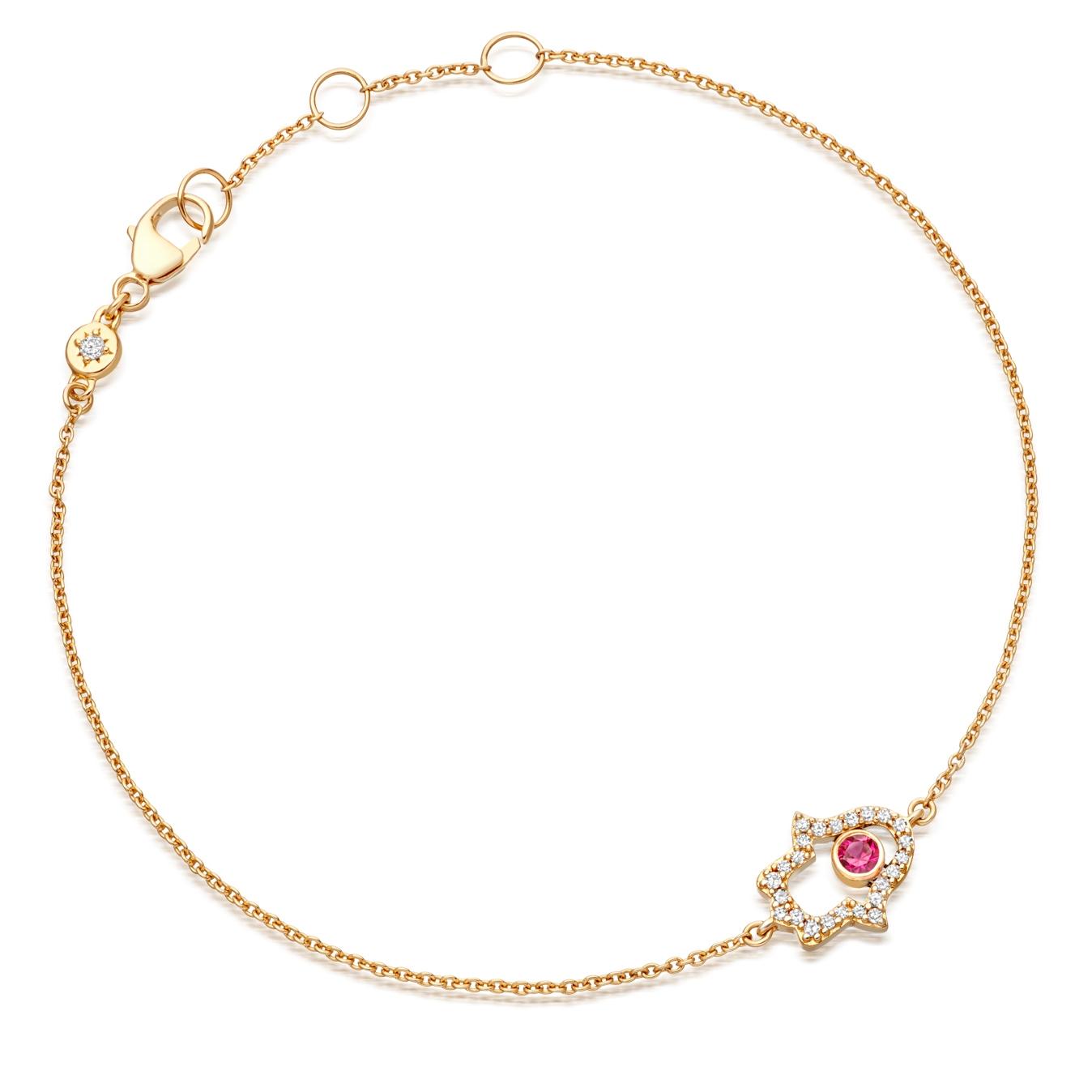 Hamsa Fine Biography Bracelet