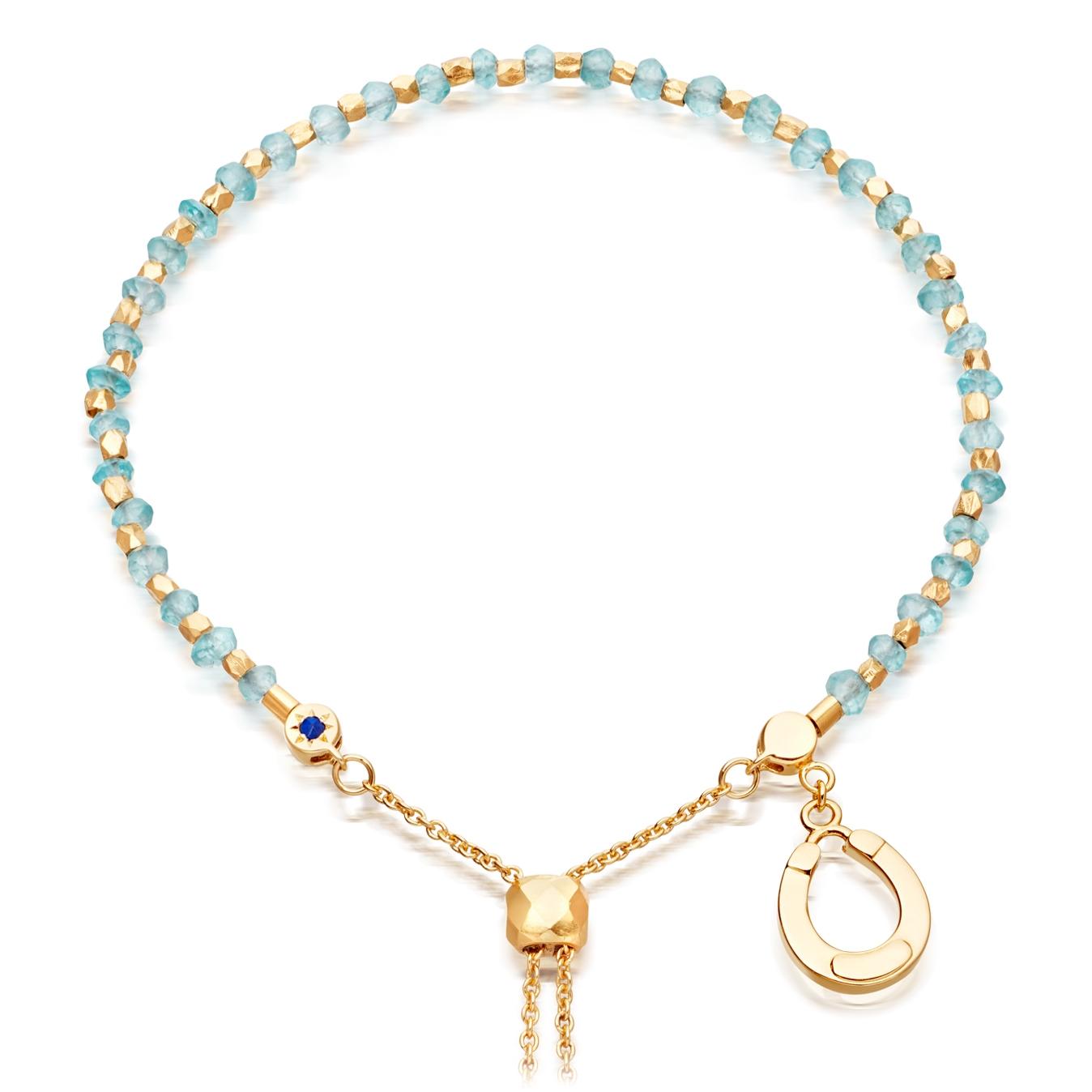 Apatite Horseshoe Kula Bracelet